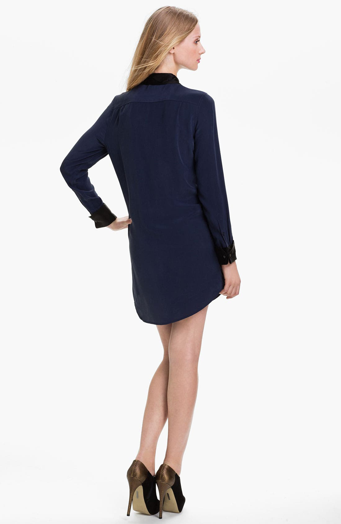 Alternate Image 2  - Equipment Colorblock Silk Shirtdress