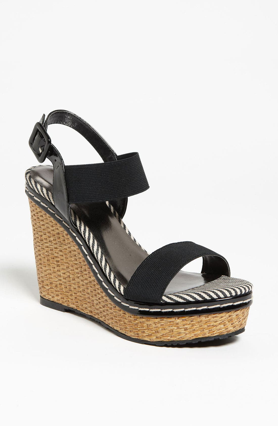Alternate Image 1 Selected - Charles by Charles David 'Tapia' Wedge Sandal (Online Only)