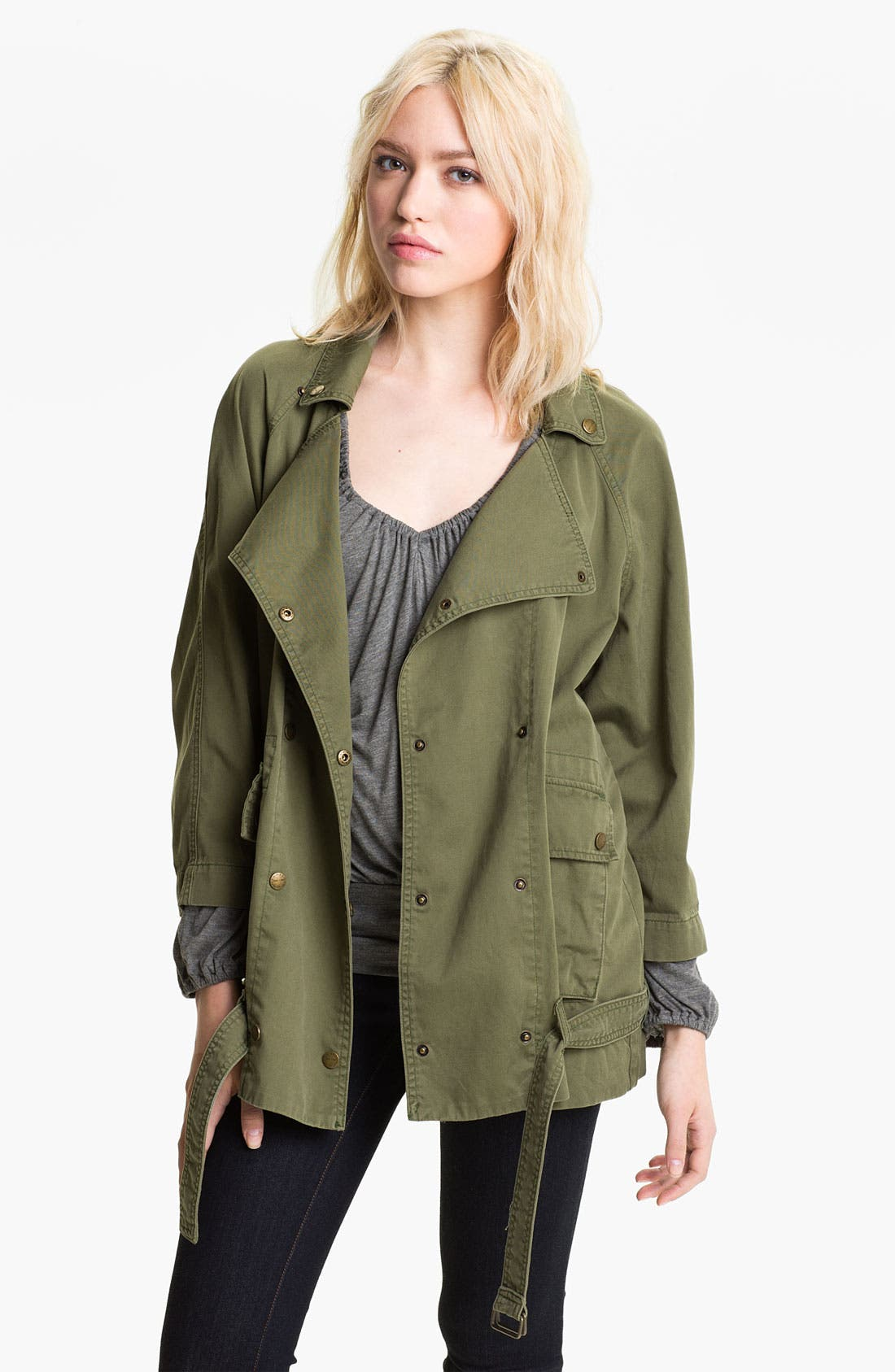 'The Infantry' Army Jacket,                             Main thumbnail 1, color,                             Army