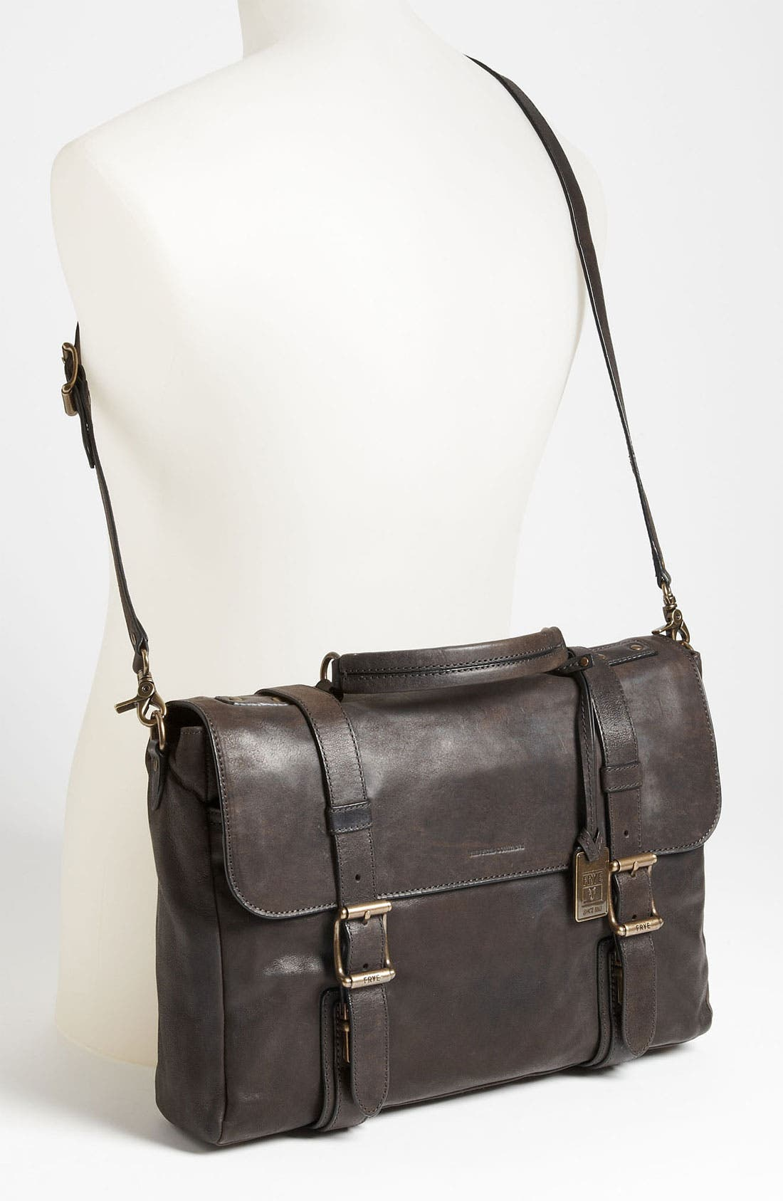 Alternate Image 2  - Frye 'Logan' Leather Flap Briefcase
