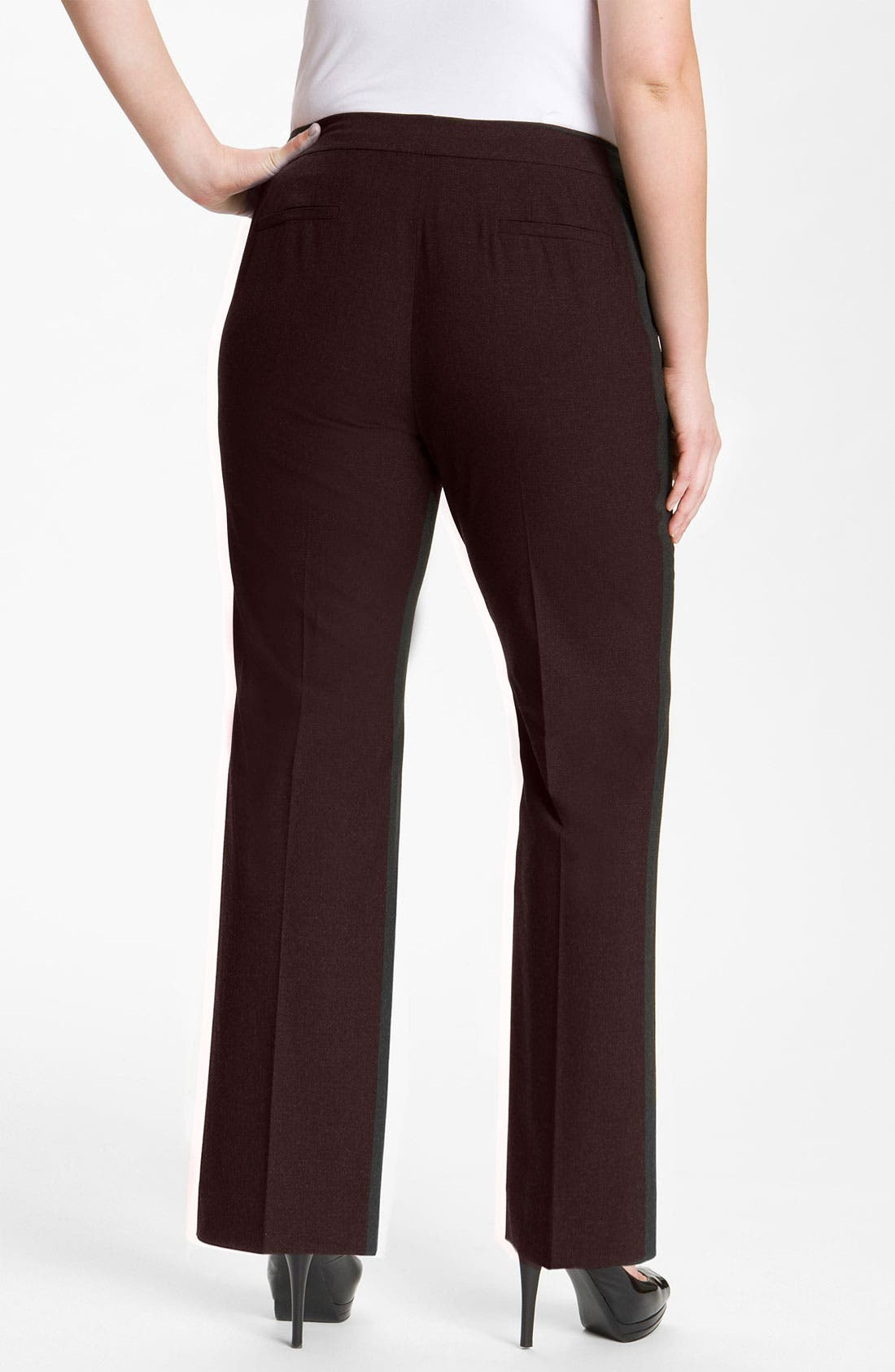 Alternate Image 2  - Sejour 'Ela' Curvy Fit Pants (Plus Size & Petite Plus)