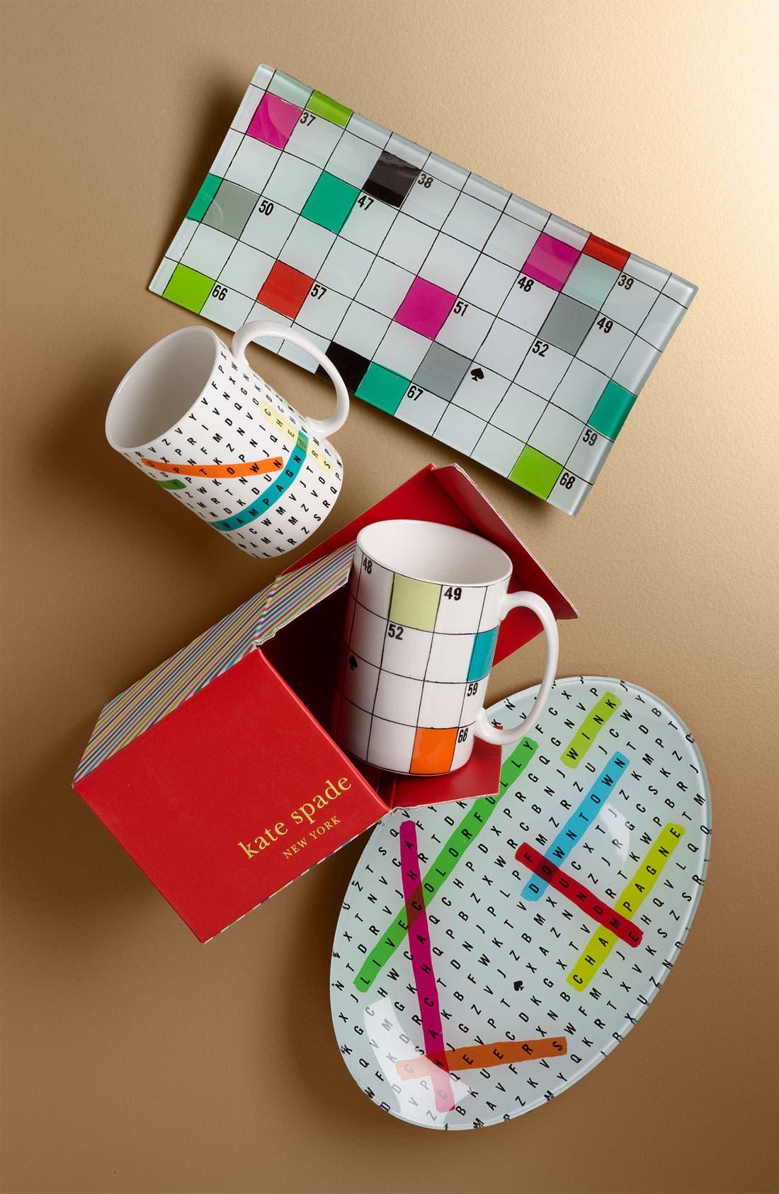Alternate Image 2  - kate spade new york 'say the word' crossword mug