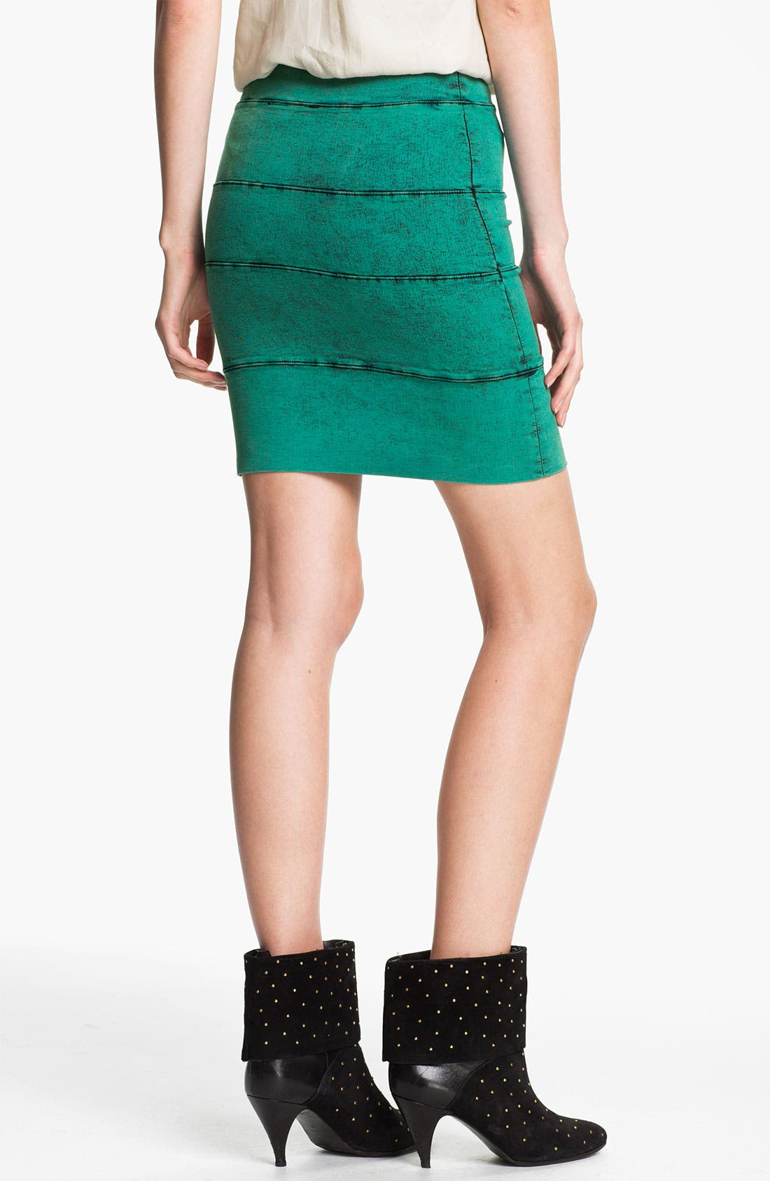Alternate Image 2  - Kelly Wearstler 'Mineral Wash' Stretch Twill Skirt