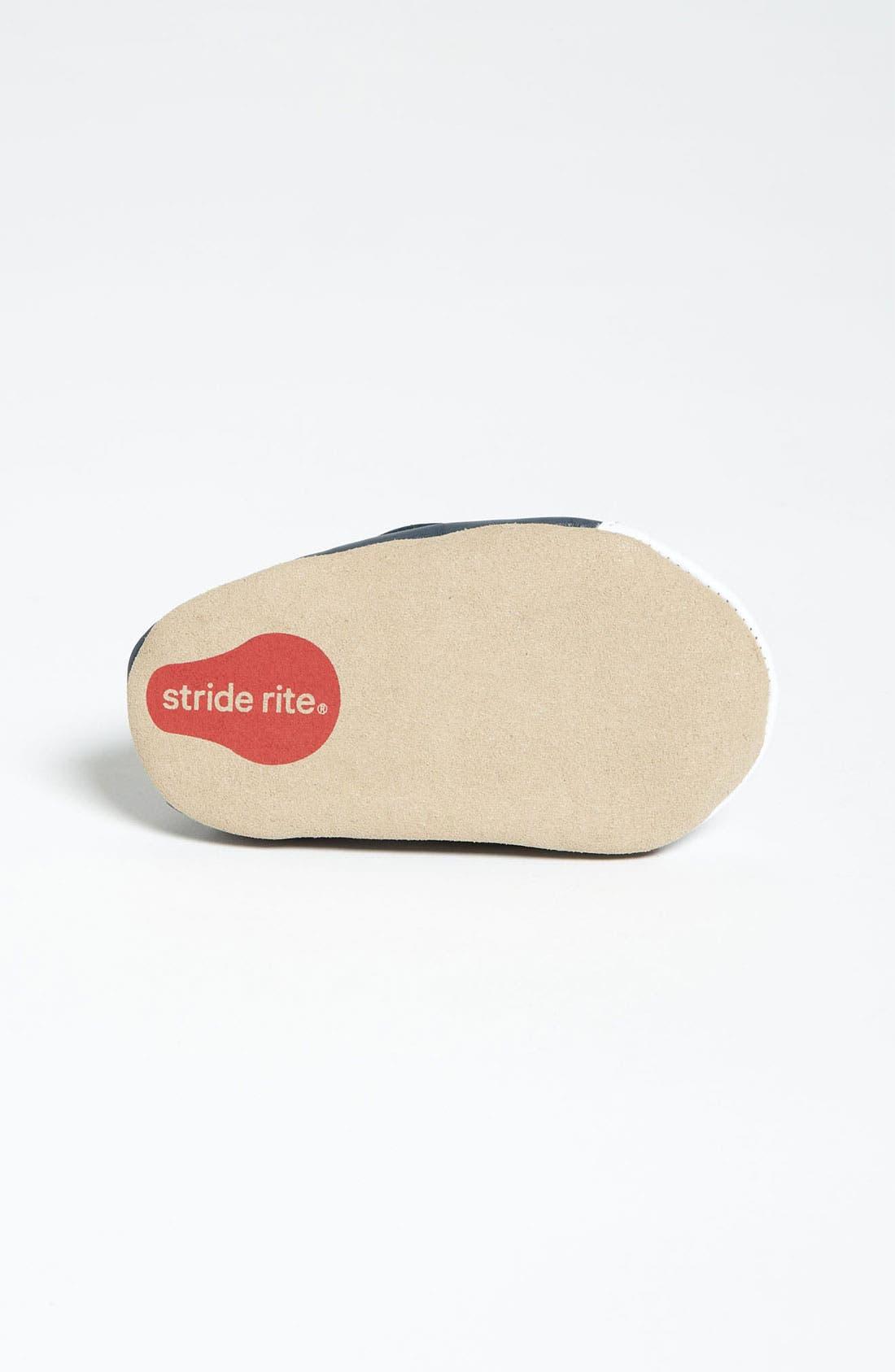 Alternate Image 4  - Stride Rite 'Teeny Sports' Crib Shoe (Baby)