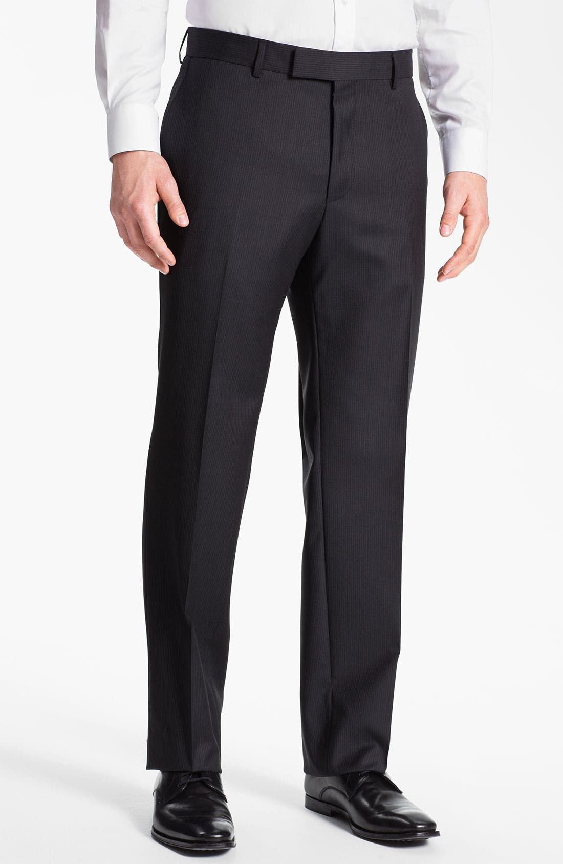 Main Image - BOSS Black 'James' Flat Front Trousers