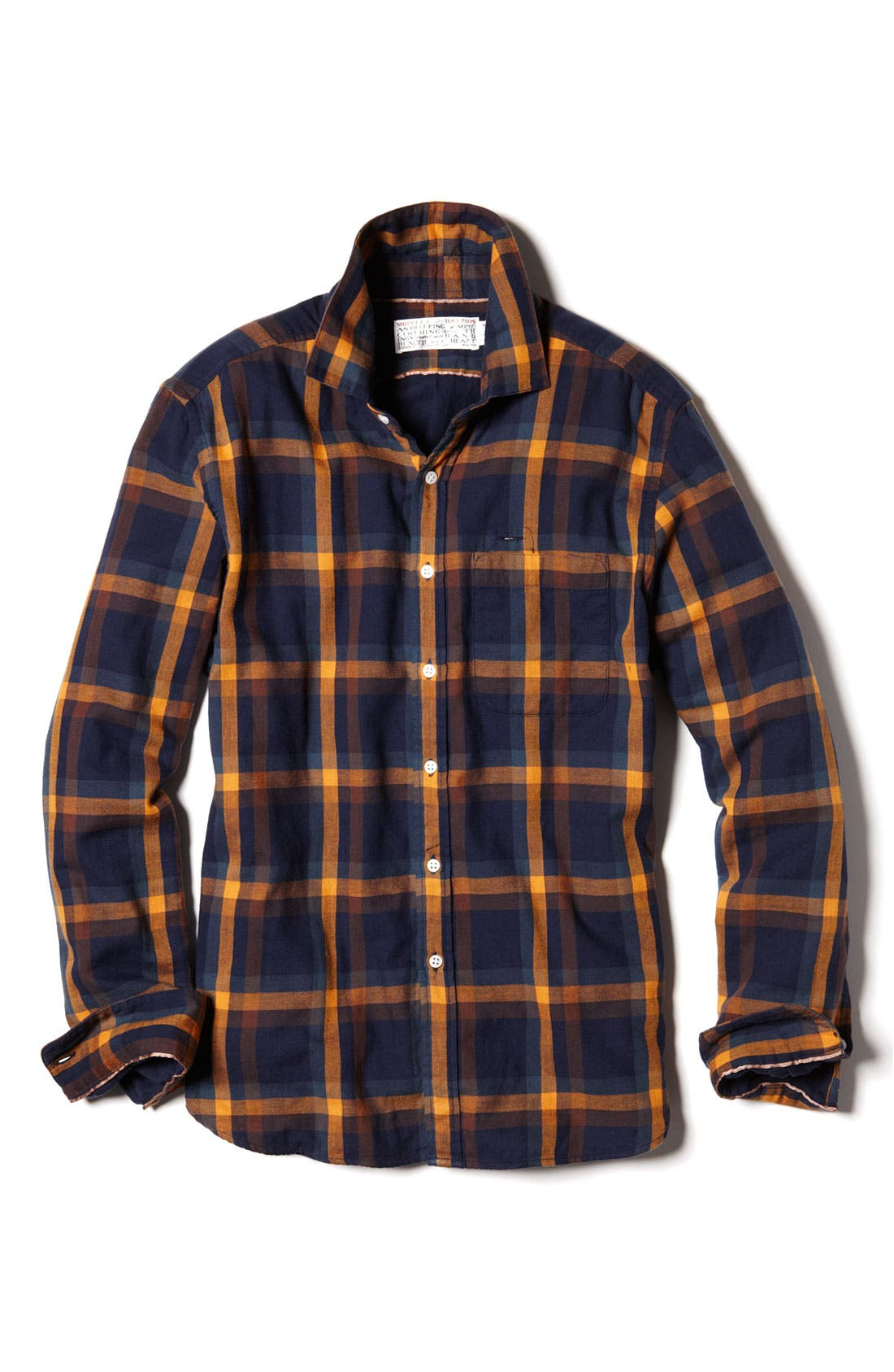 Alternate Image 2  - Shipley & Halmos Washed Cotton Woven Shirt