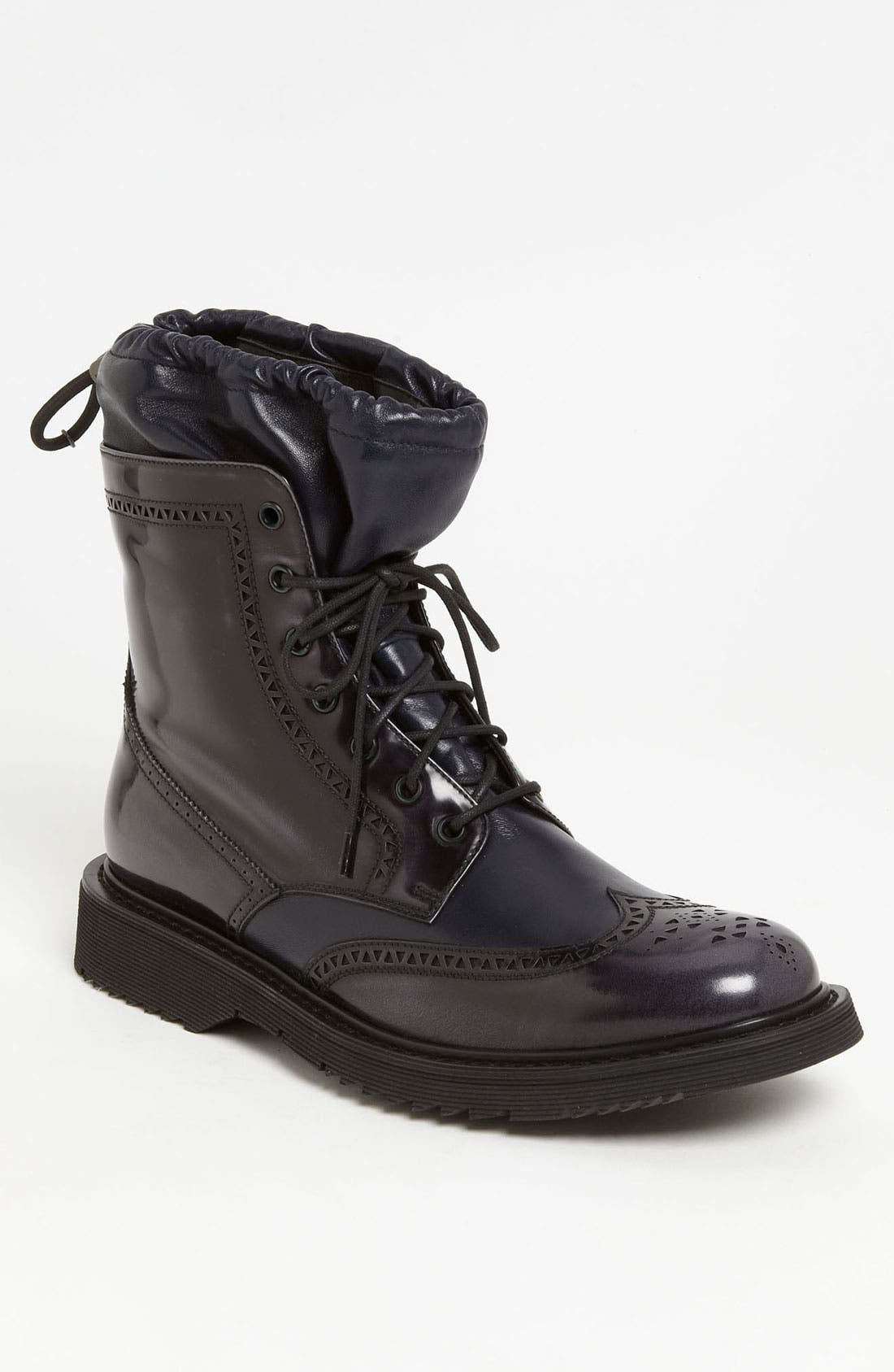 Alternate Image 1 Selected - Prada Wingtip Combat Boot