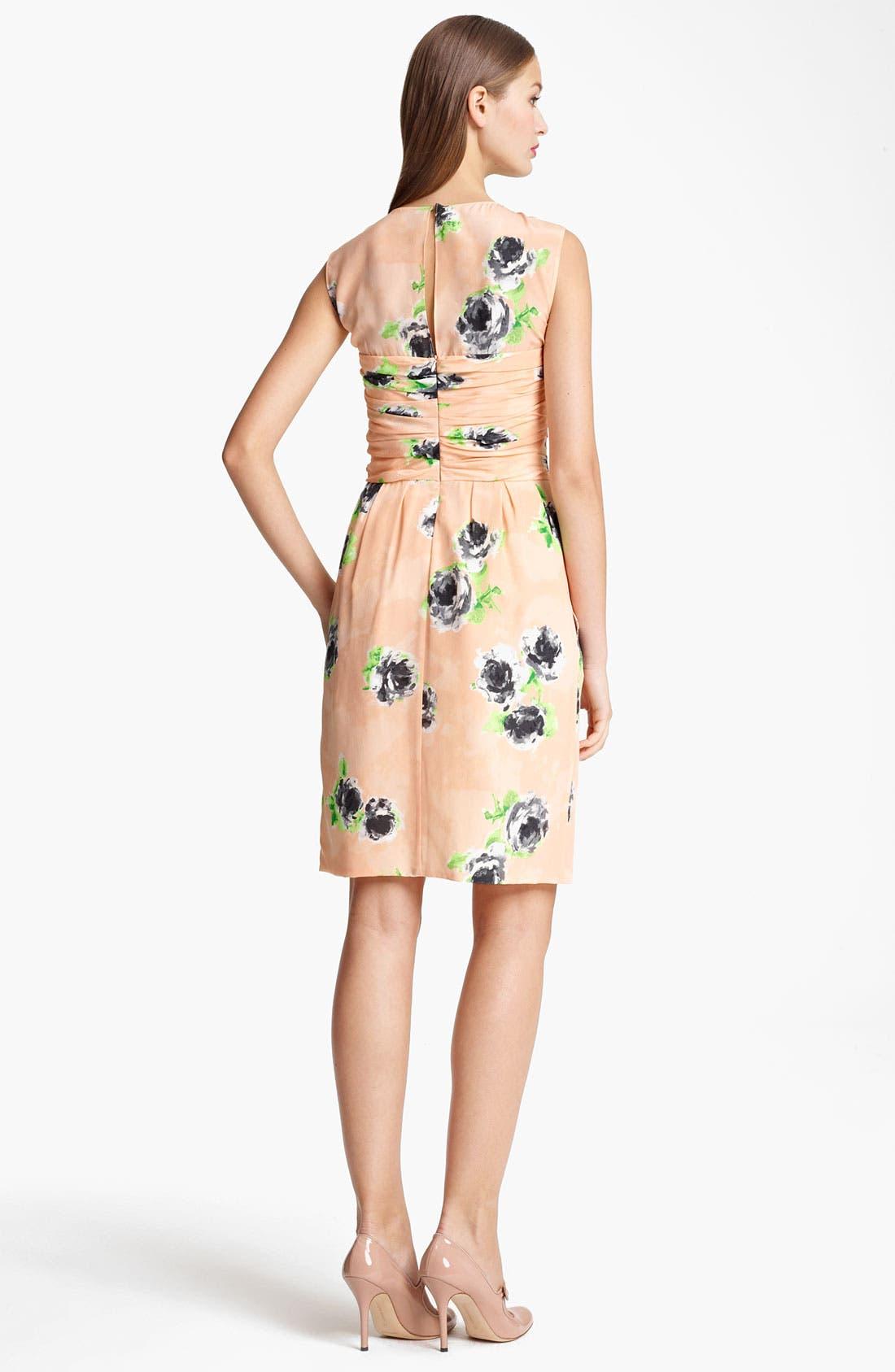 Alternate Image 2  - Moschino Cheap & Chic Rose Print Crêpe de Chine Dress