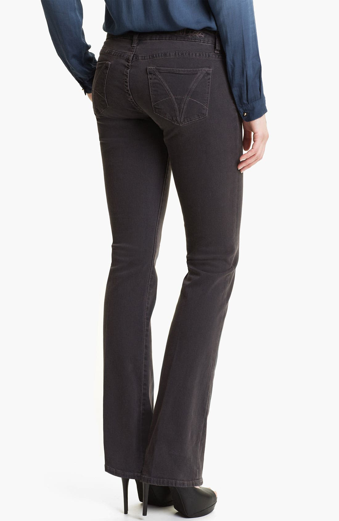 Alternate Image 2  - KUT from the Kloth Baby Bootcut Jeans (Gorgeous) (Online Exclusive)
