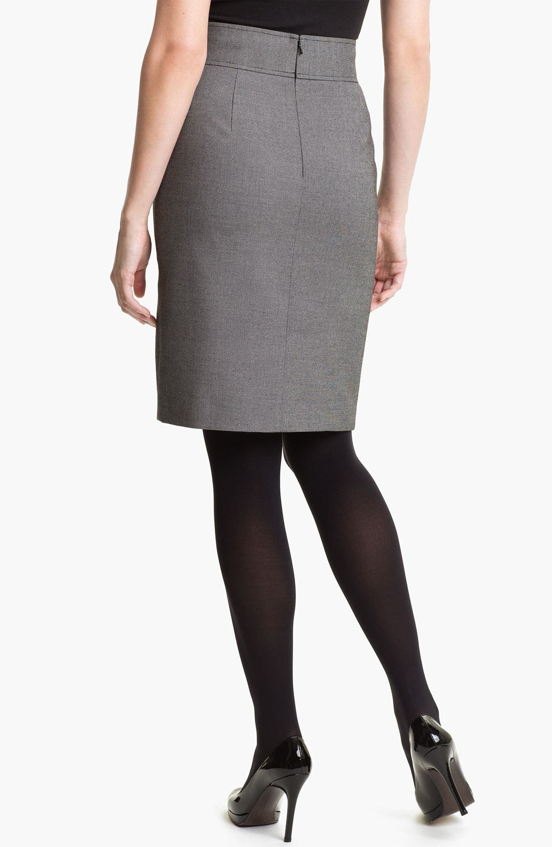 Alternate Image 2  - Halogen® Button Trim Pencil Skirt