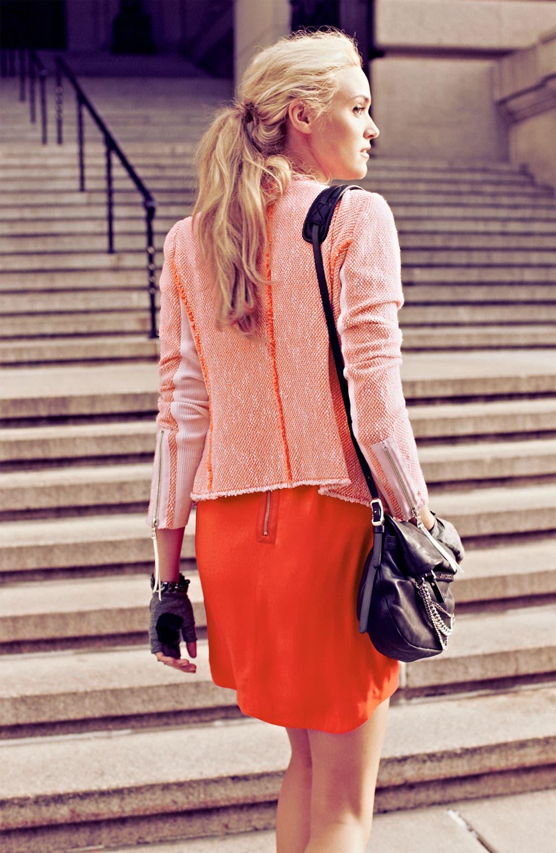 Alternate Image 6  - Rebecca Taylor Neon Tweed Jacket