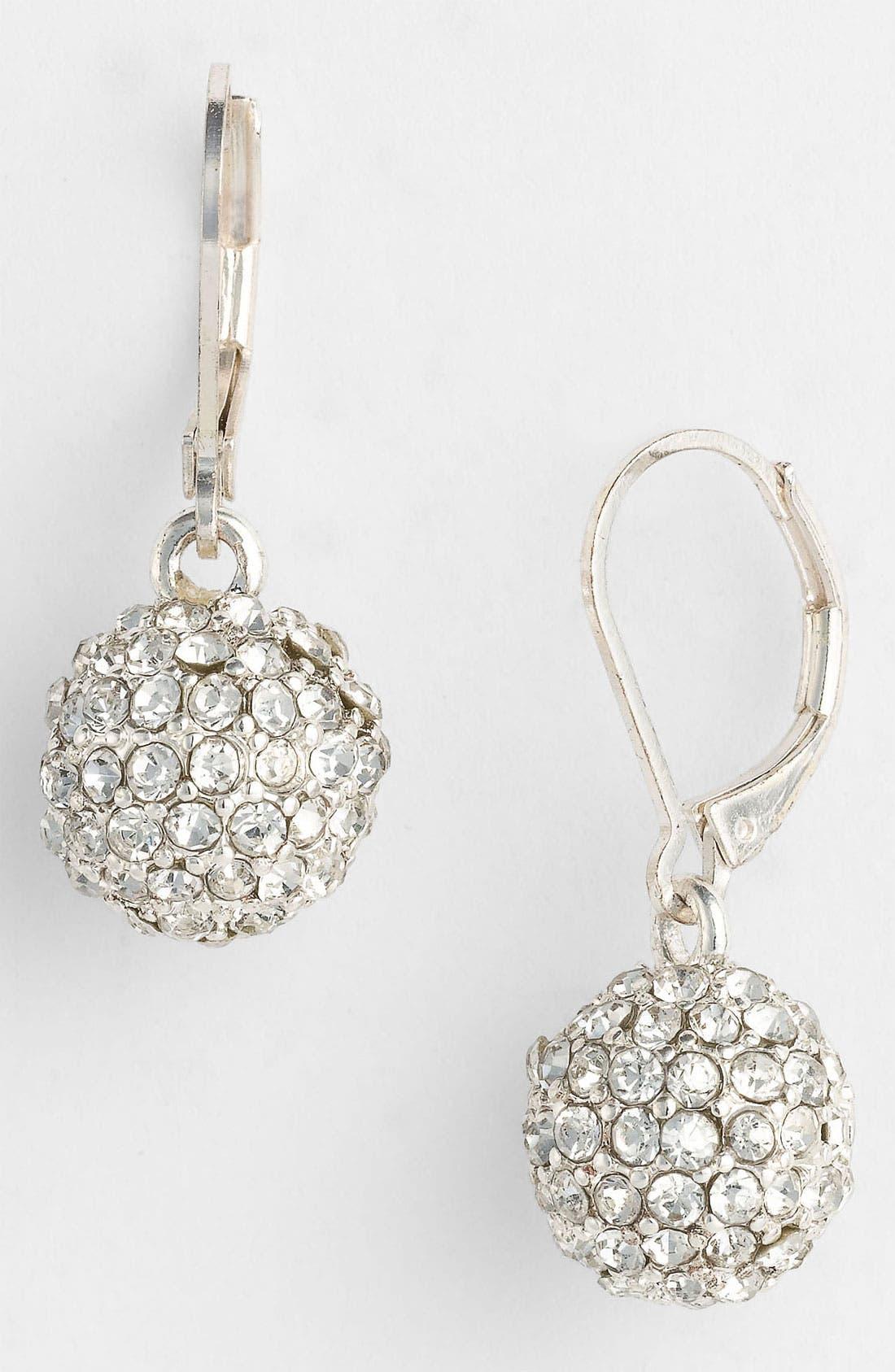 Alternate Image 1 Selected - Anne Klein 'Fireball' Drop Earrings