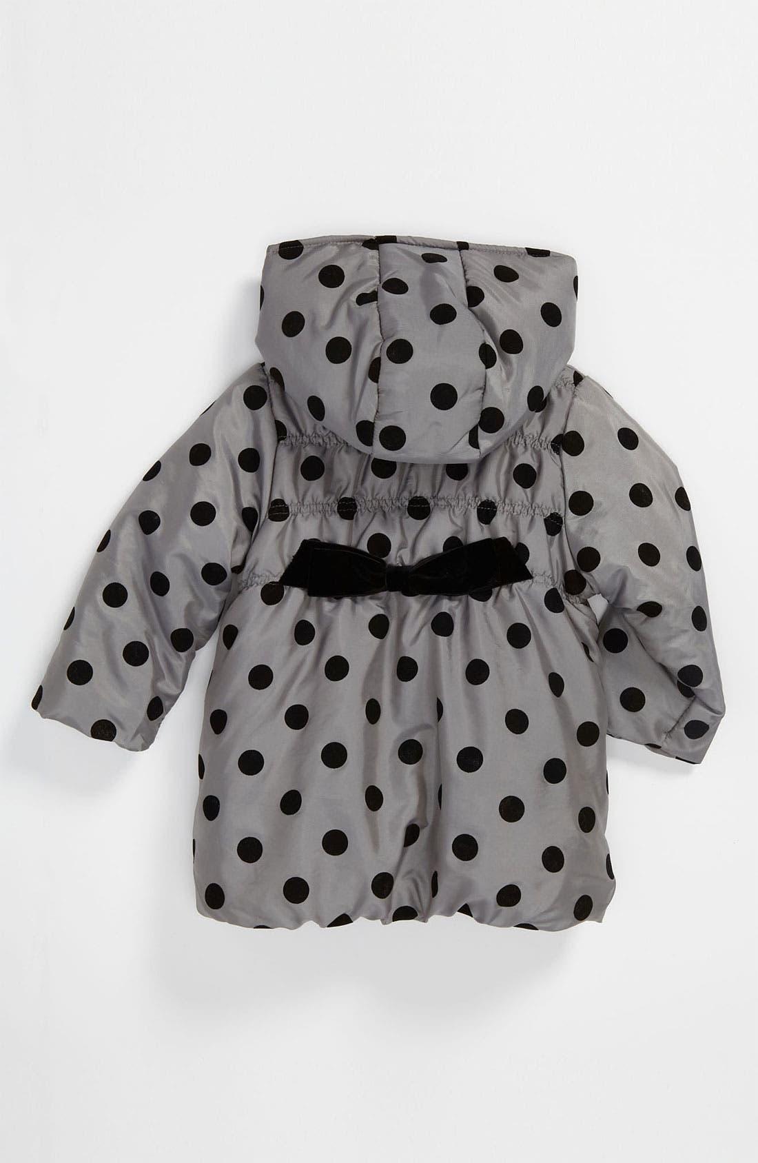 Alternate Image 2  - Widgeon Polka Dot Coat (Toddler)