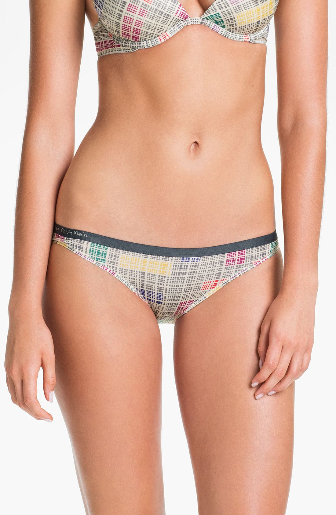 Main Image - Calvin Klein Microfiber Bikini