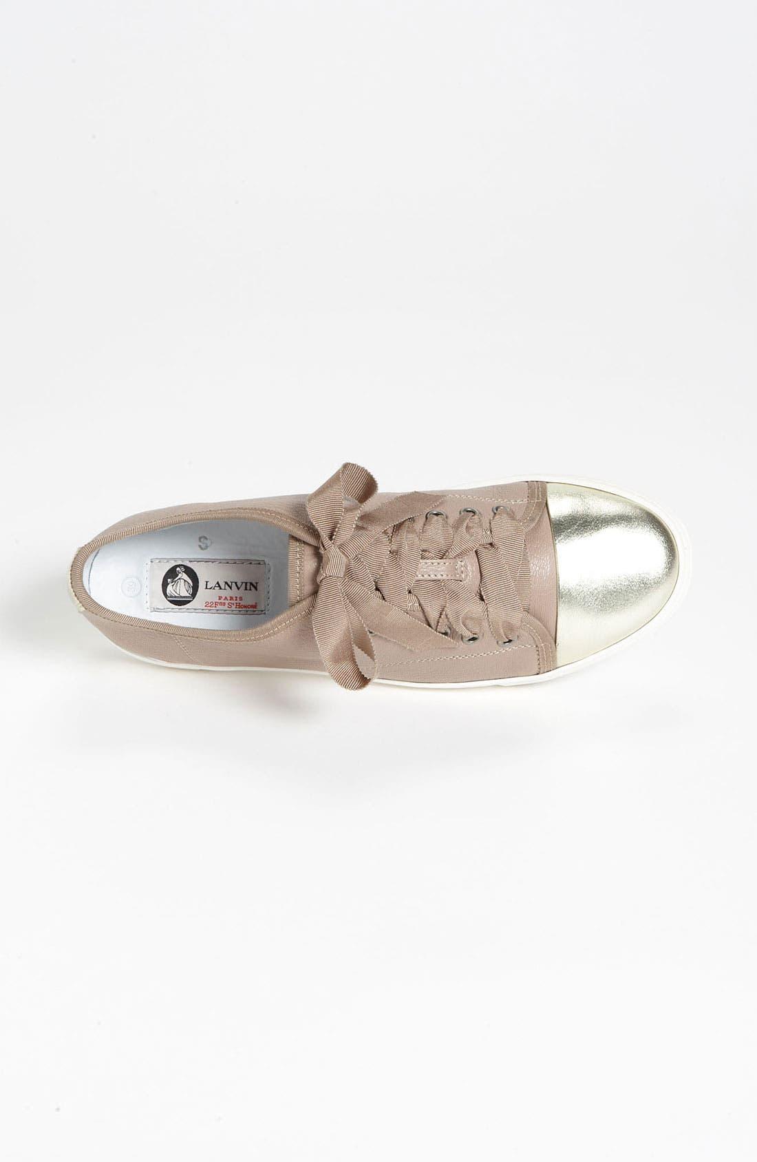 Alternate Image 3  - Lanvin Cap Toe Sneaker
