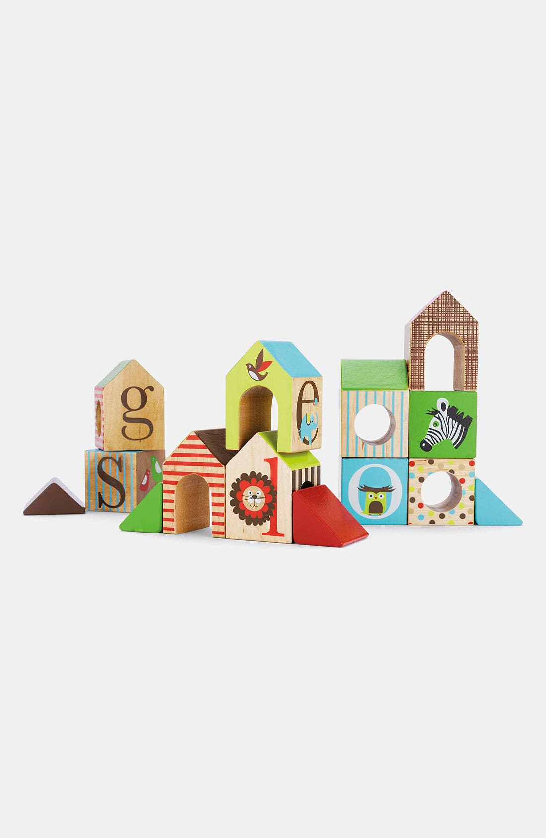 Alternate Image 1 Selected - Skip Hop 'Alphabet Zoo' House Blocks