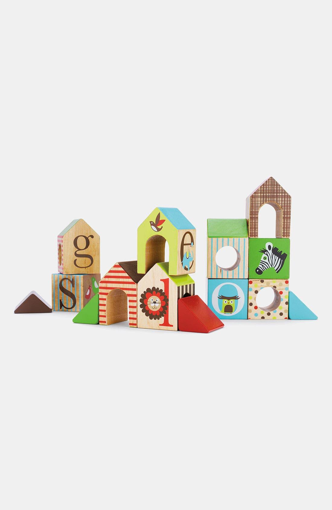 'Alphabet Zoo' House Blocks,                         Main,                         color, Multi