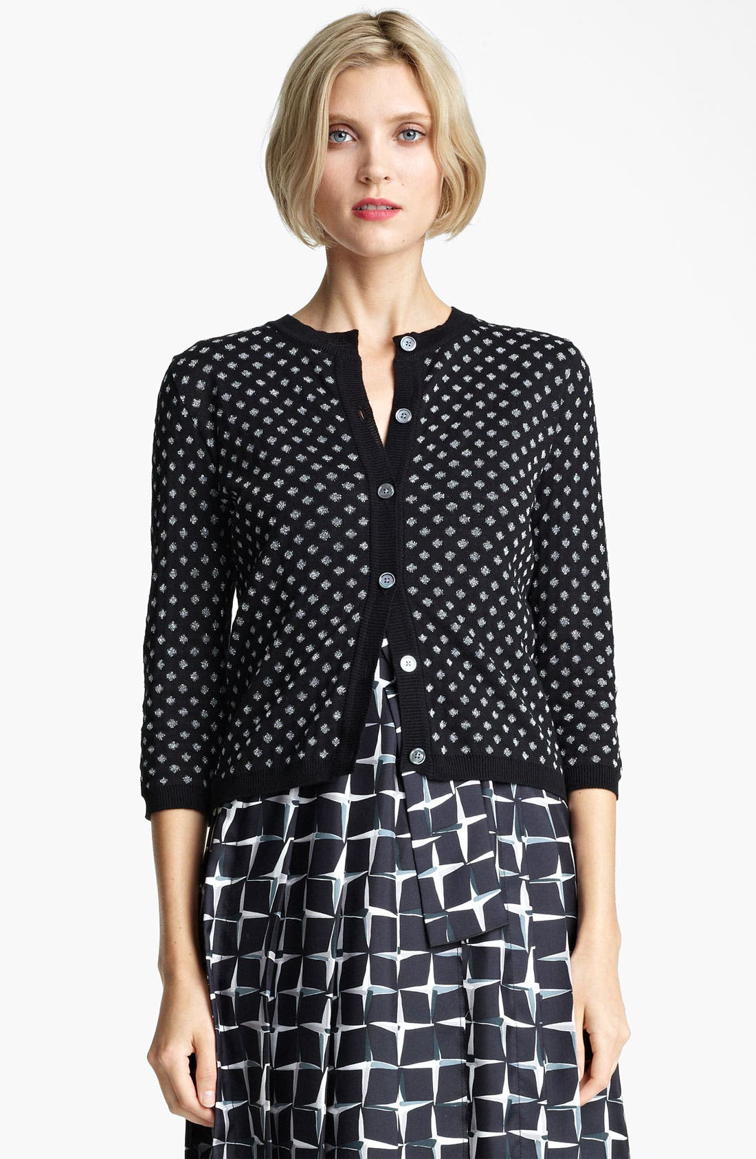 Alternate Image 1 Selected - MARC JACOBS Polka Dot Jacquard Cardigan