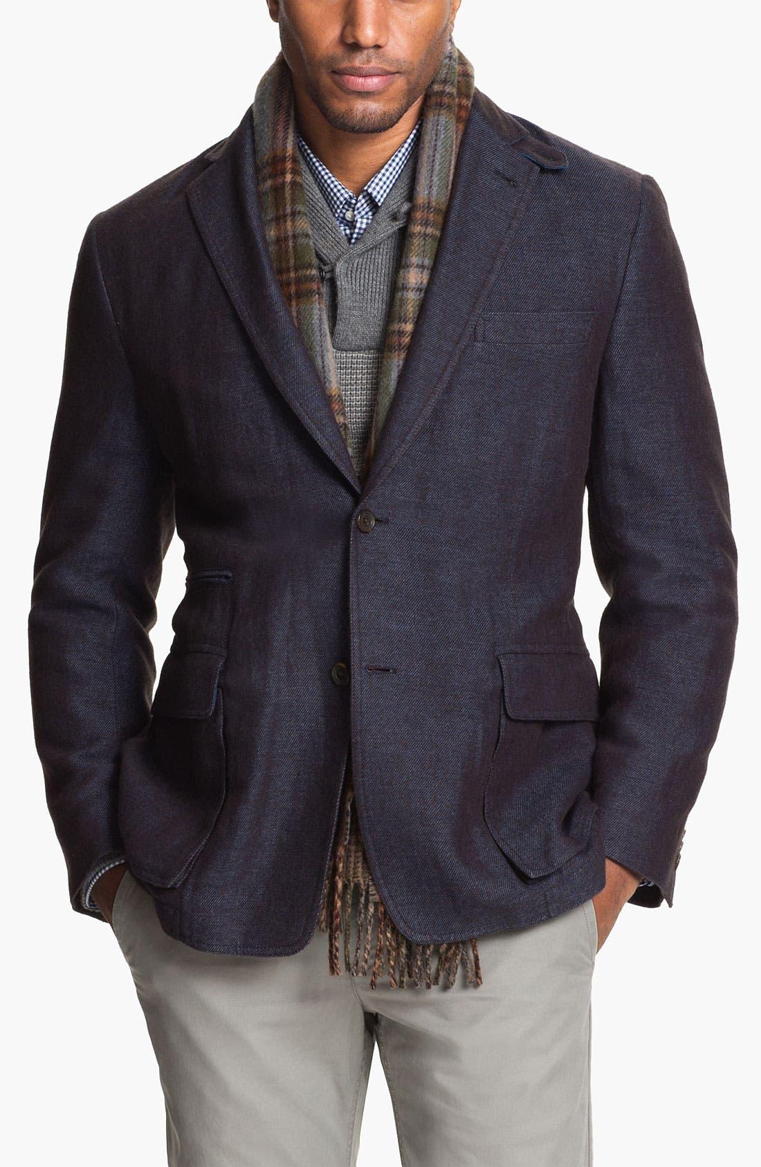 Alternate Image 1 Selected - Kroon 'Waits' Linen & Wool Blend Sportcoat