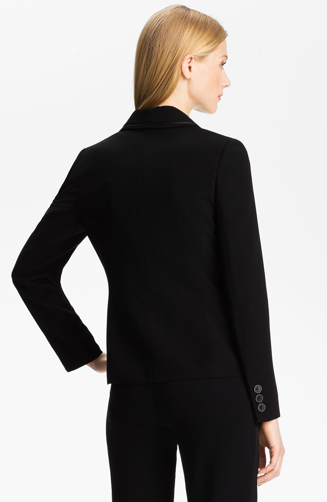 Alternate Image 2  - Anne Klein Tuxedo Jacket (Petite)