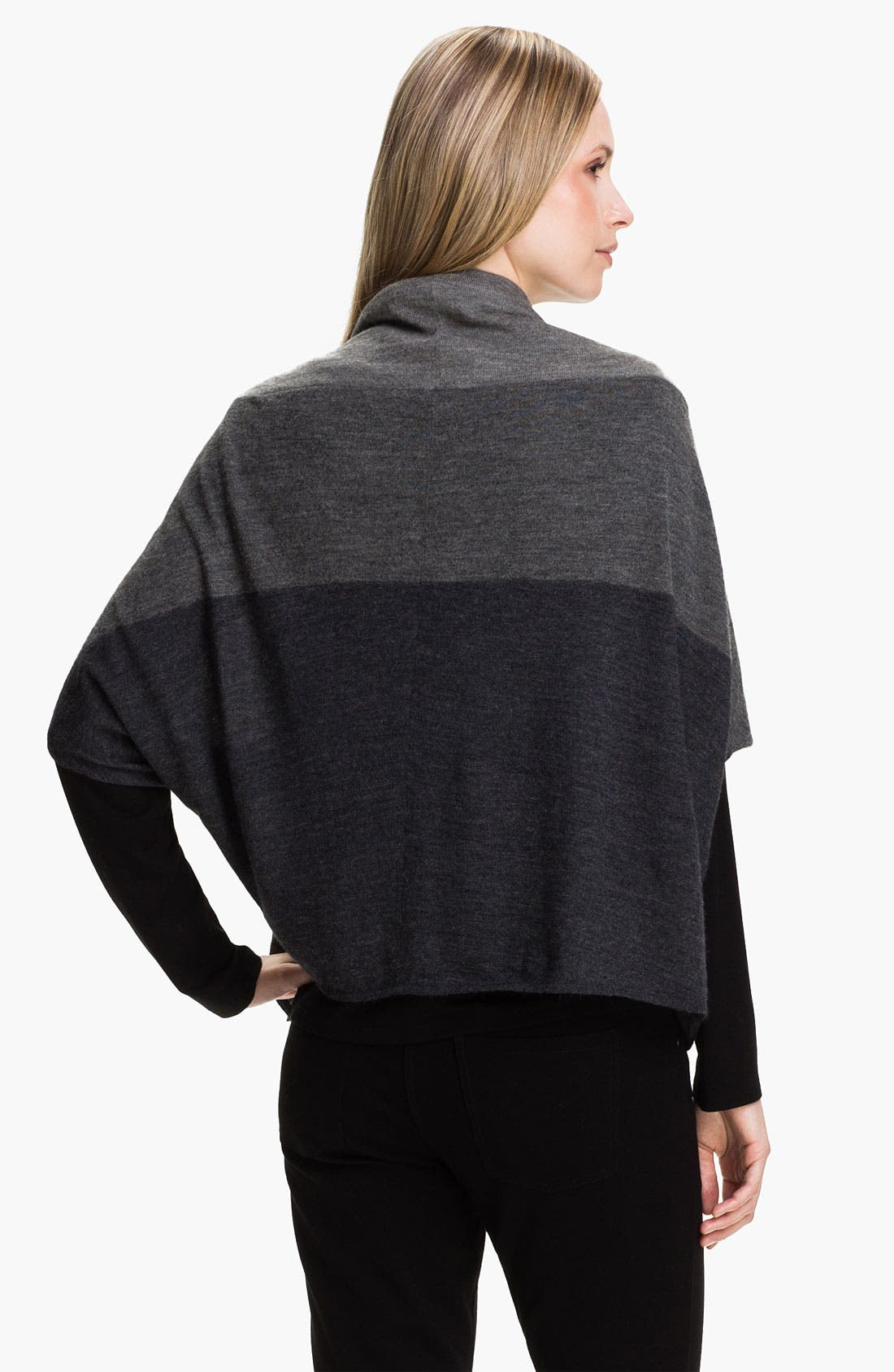 Alternate Image 2  - Eileen Fisher Colorblock Alpaca Cardigan (Online Exclusive)