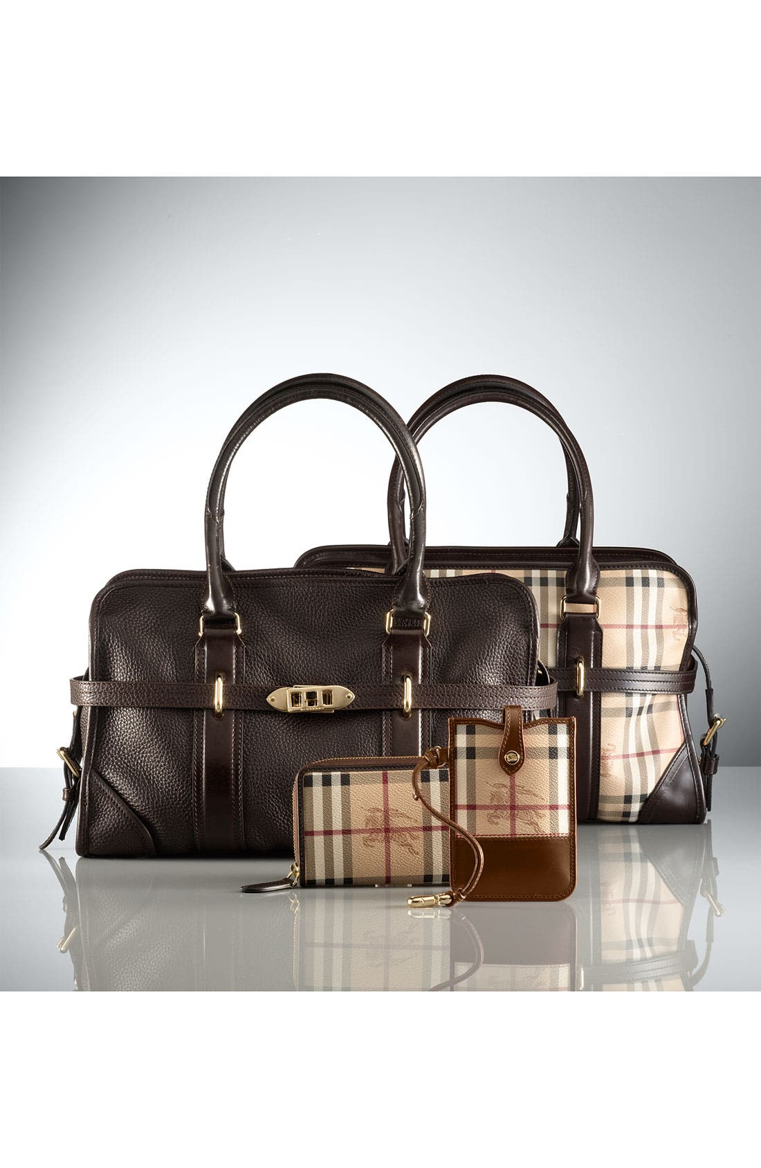 Alternate Image 5  - Burberry 'London Grainy' Leather Tote