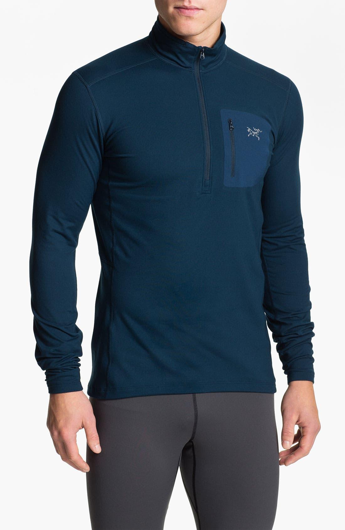 Main Image - Arc'teryx Half Zip Pullover (Online Only)