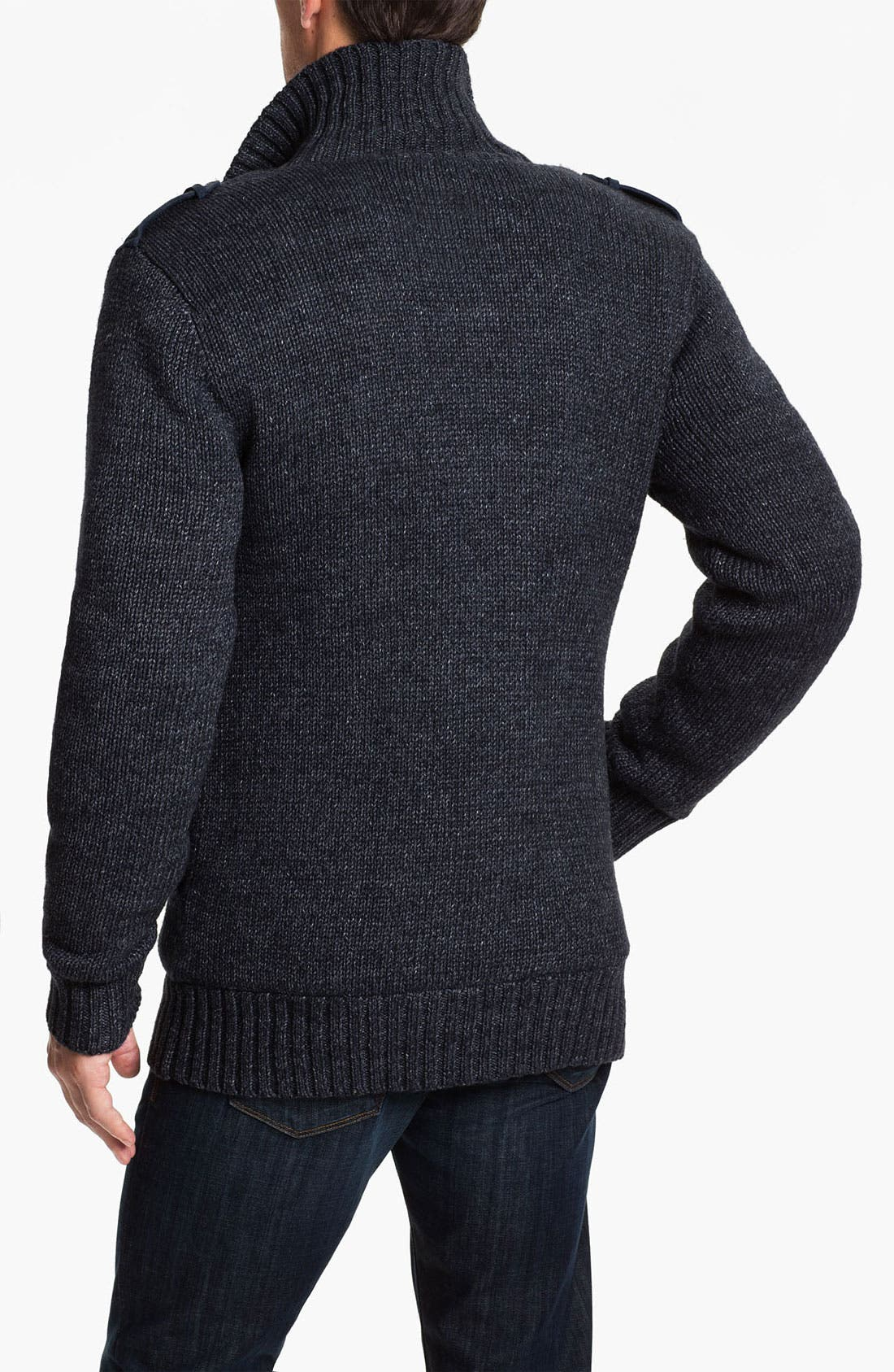Alternate Image 2  - UGG® Australia 'Jones' Double Breasted Knit Cardigan