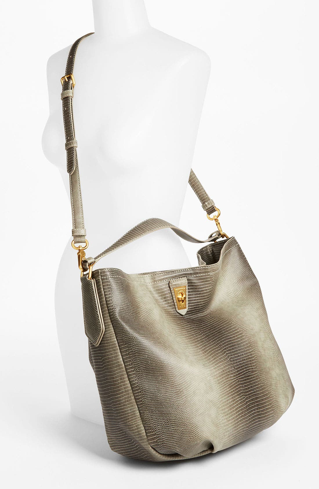 Alternate Image 2  - MARC BY MARC JACOBS 'Lizzie' Embossed Hobo