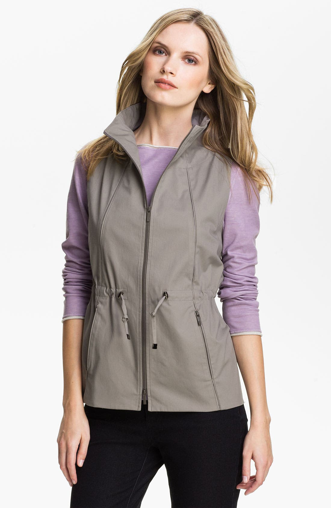 Alternate Image 1 Selected - Lafayette 148 New York Two Tone Vest