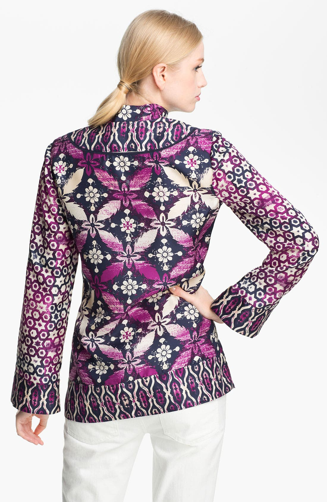 Alternate Image 2  - Tory Burch 'Daria' Silk Tunic