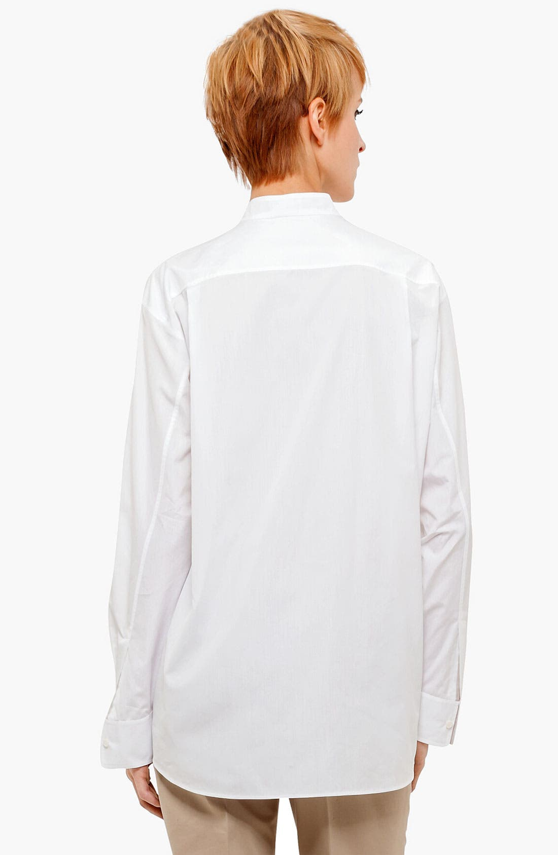 Alternate Image 2  - Akris punto Pleat Detail Blouse