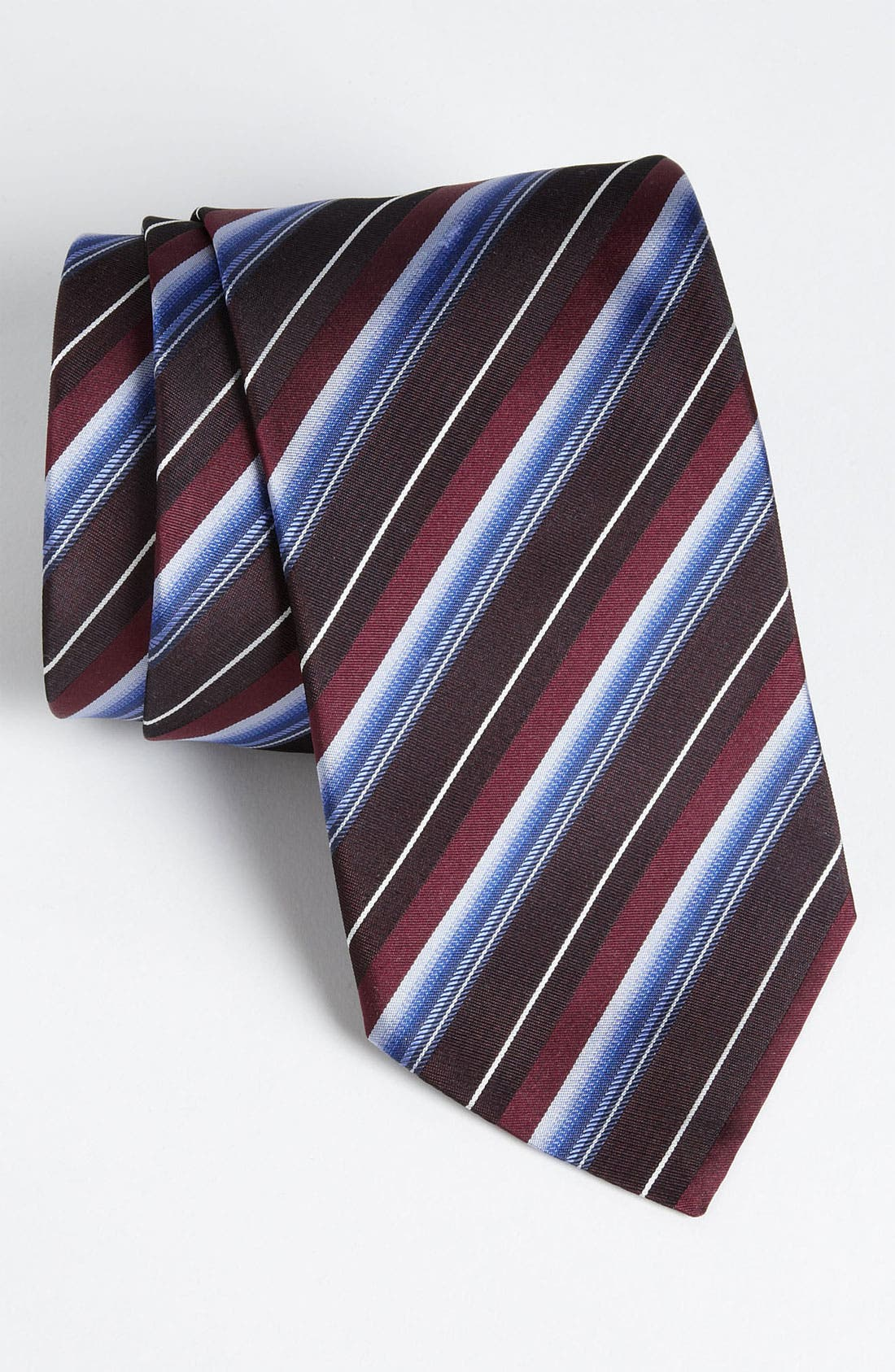 Main Image - BOSS Black Woven Silk Tie (Tall) (Online Exclusive)