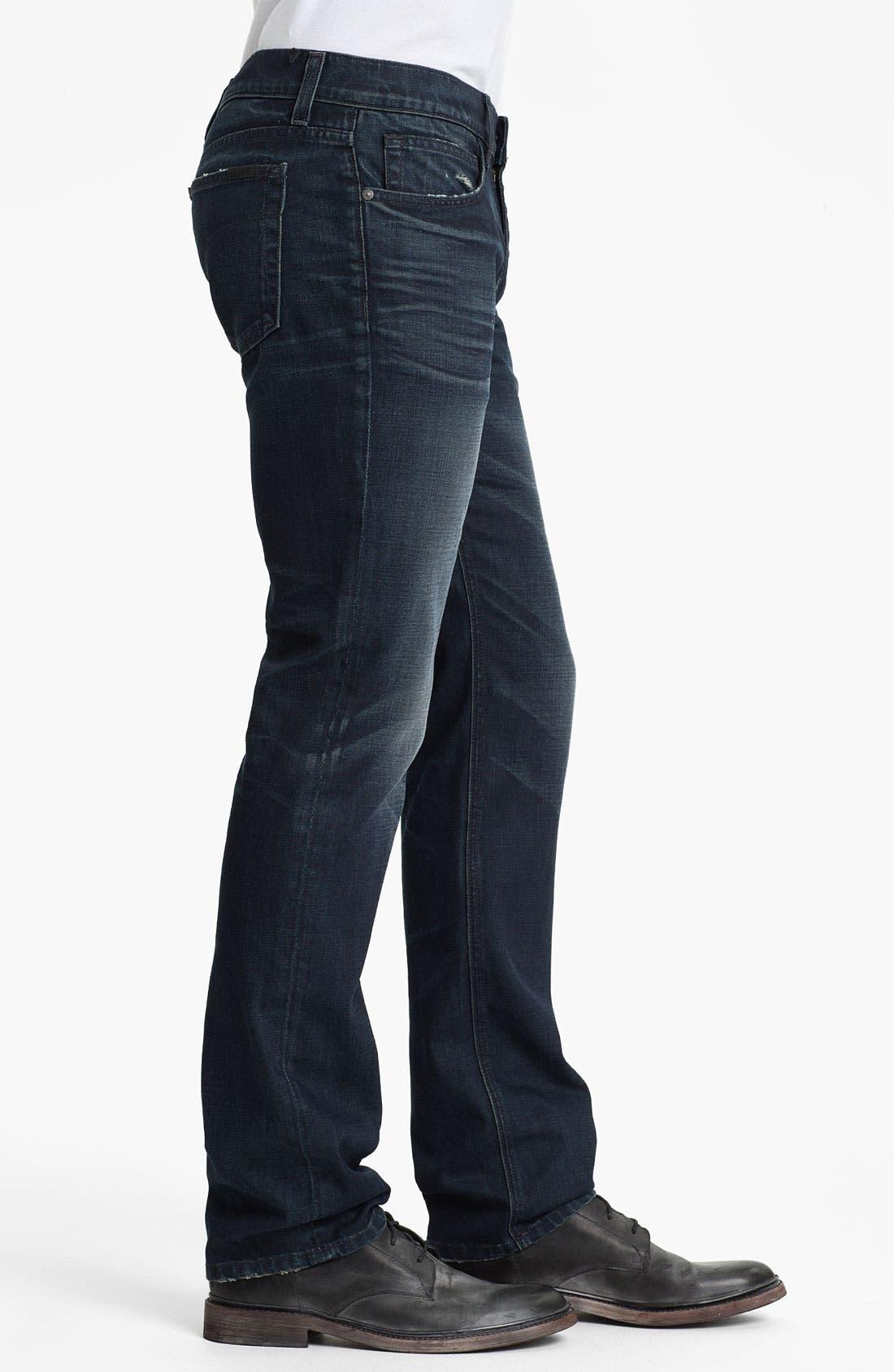 Alternate Image 3  - Joe's 'Brixton' Slim Straight Leg Jeans (Kensington)