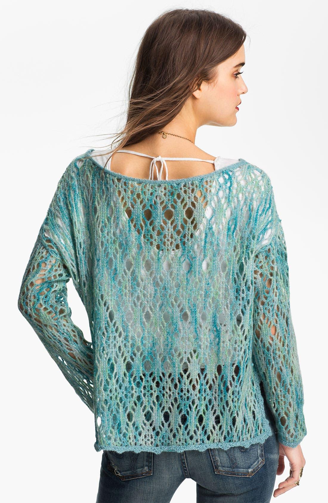 Alternate Image 2  - Free People Crochet Top