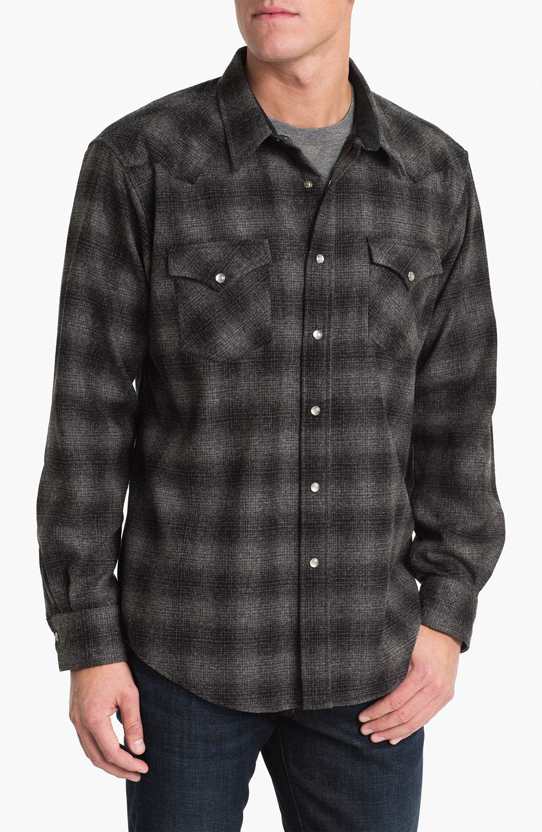 Alternate Image 1 Selected - Pendleton 'Canyon' Fitted Wool Shirt