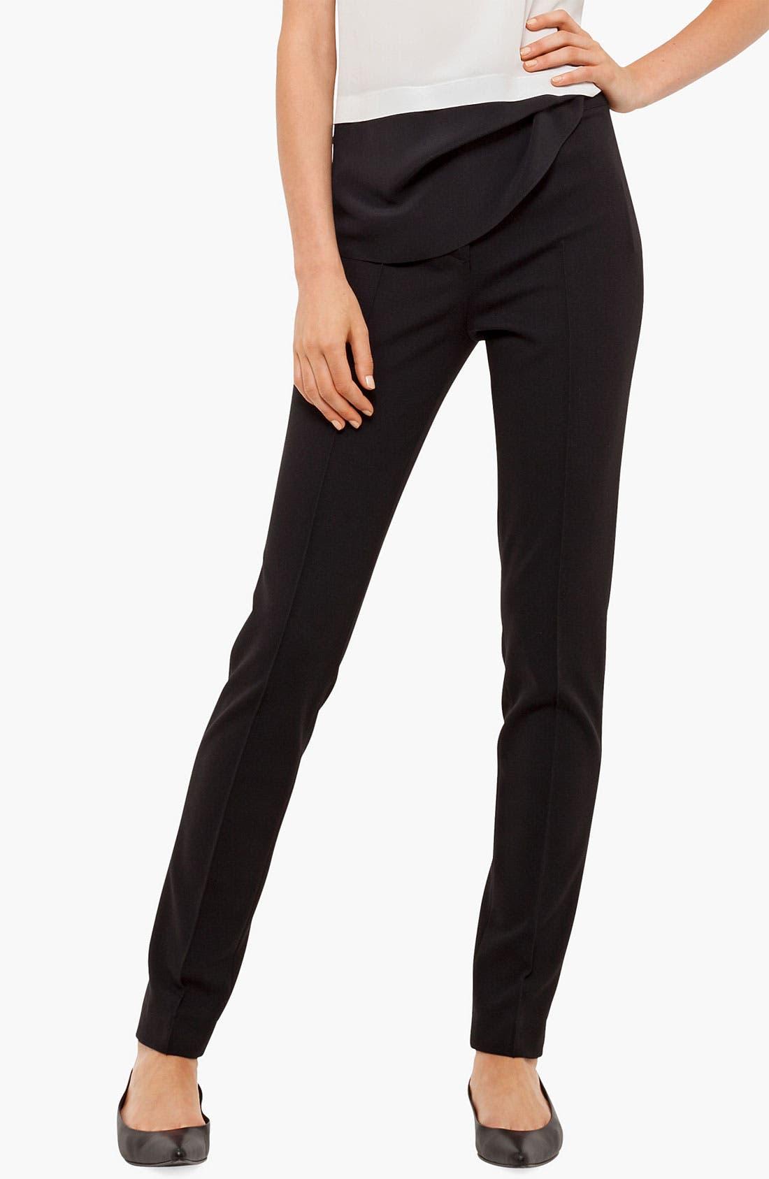 Alternate Image 1 Selected - Akris punto 'Mara' Jersey Pants