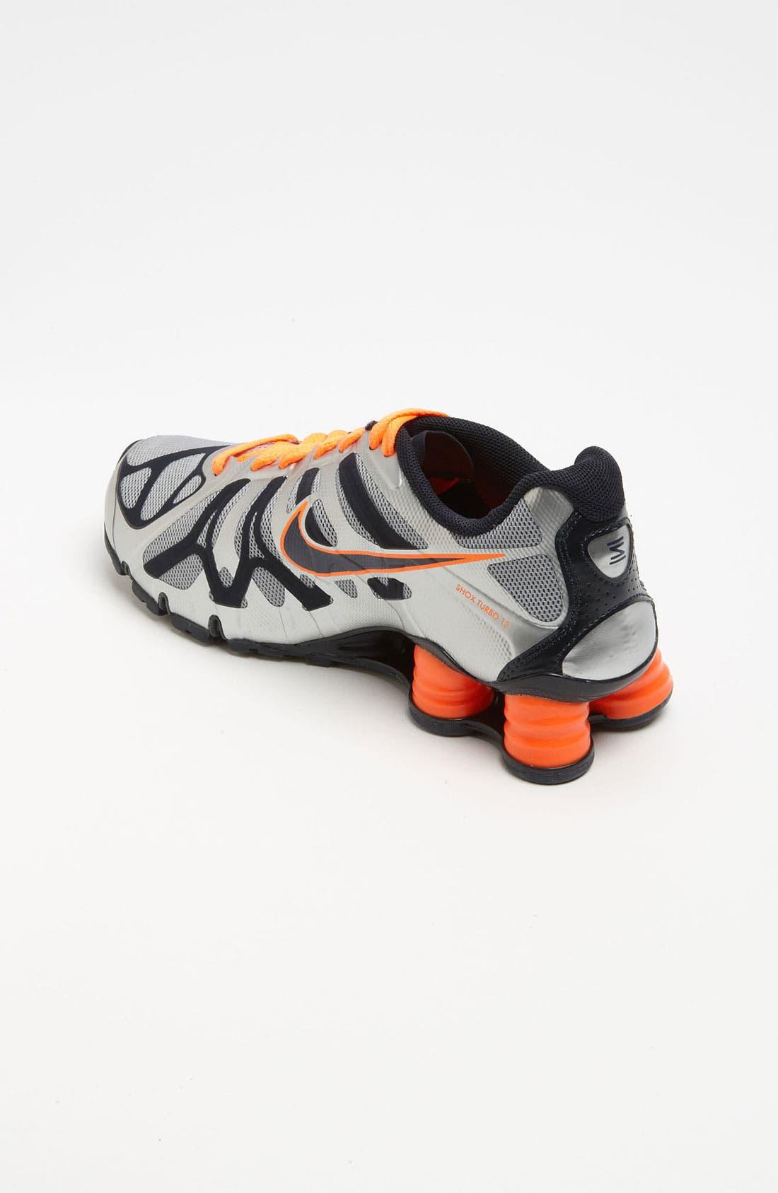 Alternate Image 2  - Nike 'Shox Turbo 13' Running Shoe (Big Kid)