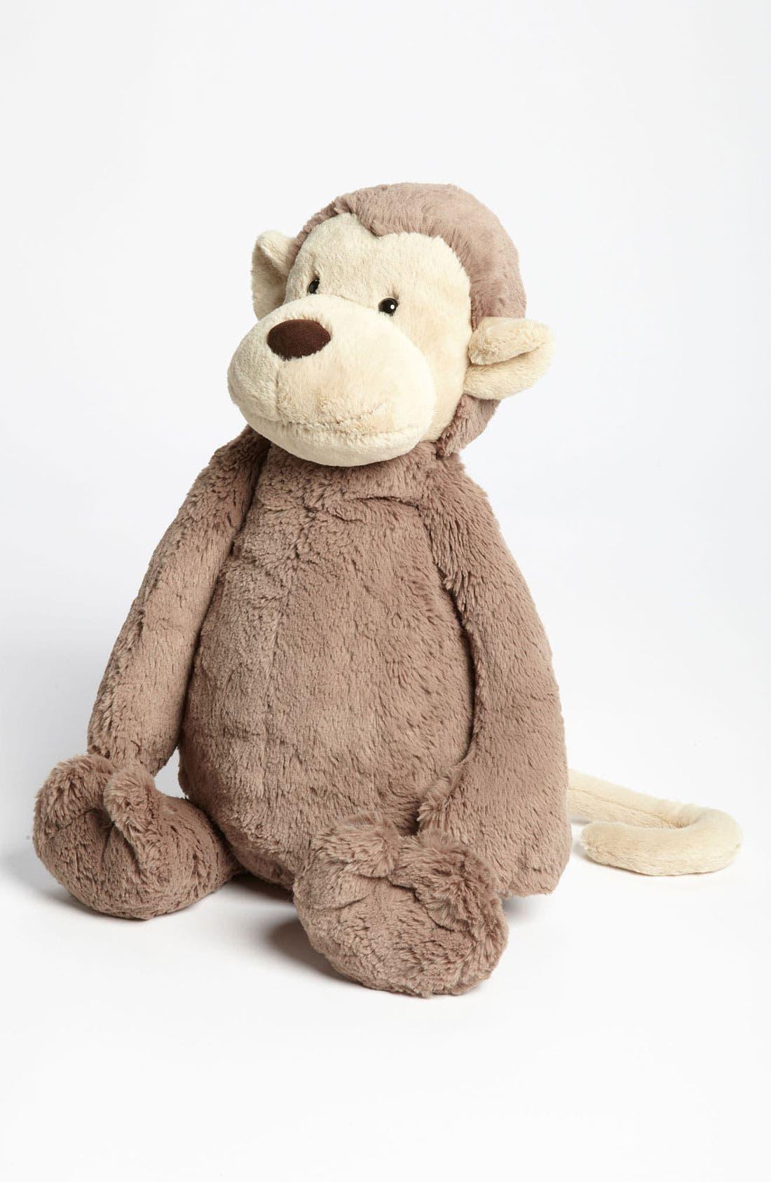 Main Image - Jellycat 'Large Bashful Monkey' Stuffed Animal