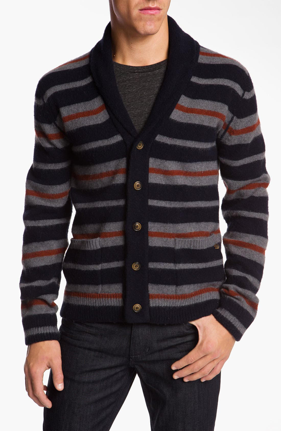 Alternate Image 1 Selected - Woolrich John Rich Shawl Collar Cardigan