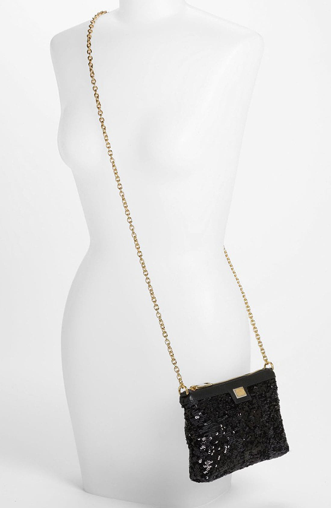 Alternate Image 2  - Dolce&Gabbana 'Miss Mini' Sequin Crossbody Bag