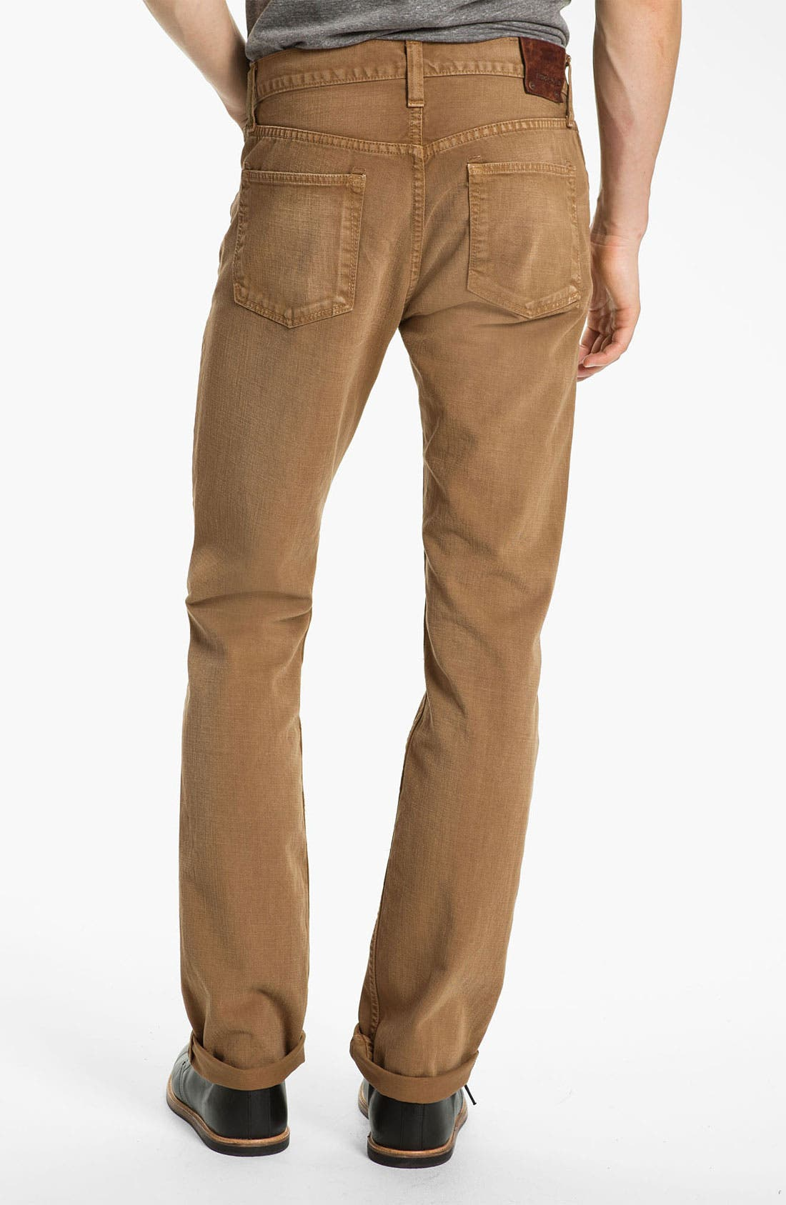 Alternate Image 1 Selected - J Brand 'Kane' Slim Straight Leg Jeans (Weathered Timber) (Save Now through 12/9)