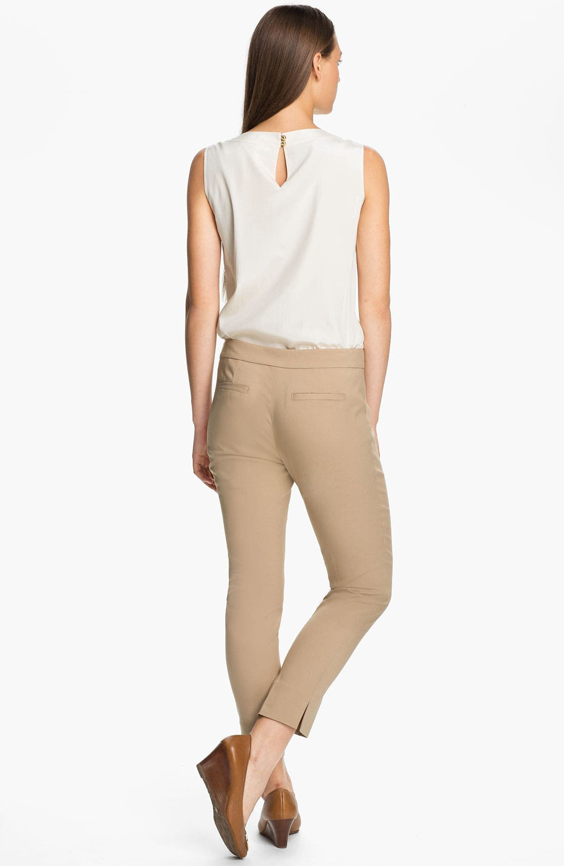 Alternate Image 5  - Tory Burch 'April' Stretch Silk Top