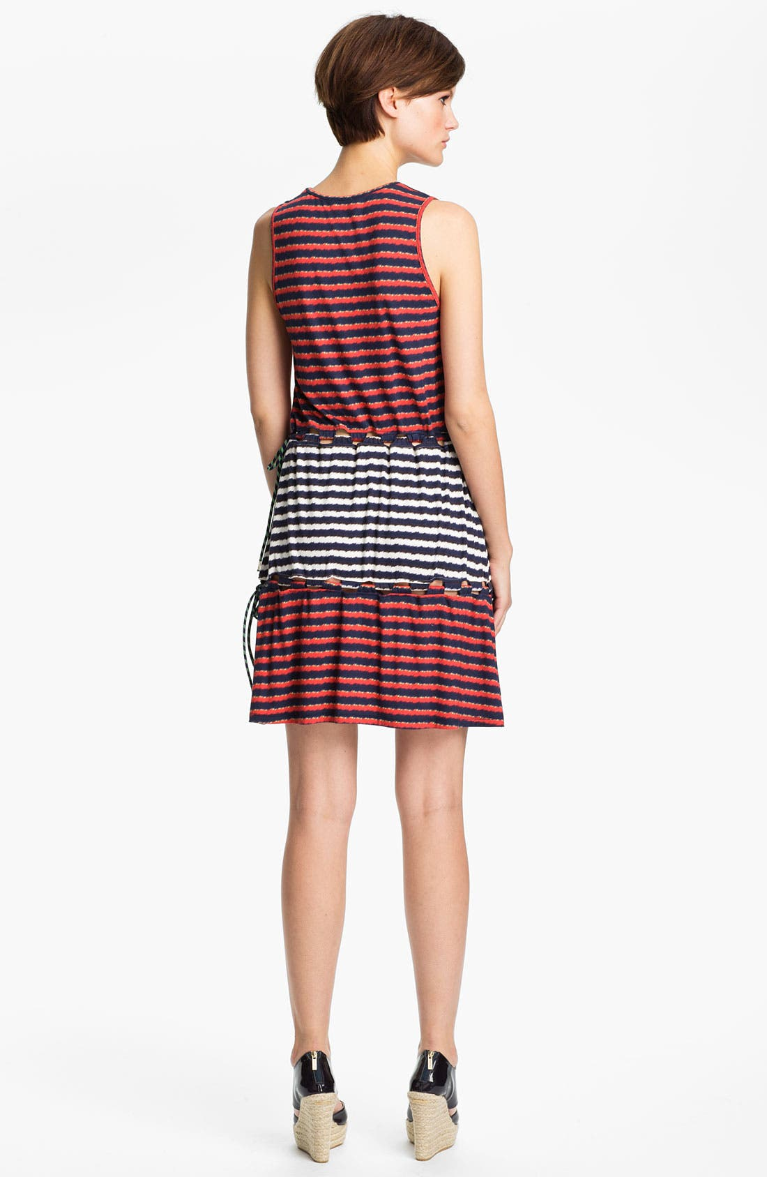 Alternate Image 2  - KENZO Stripe Print Dress