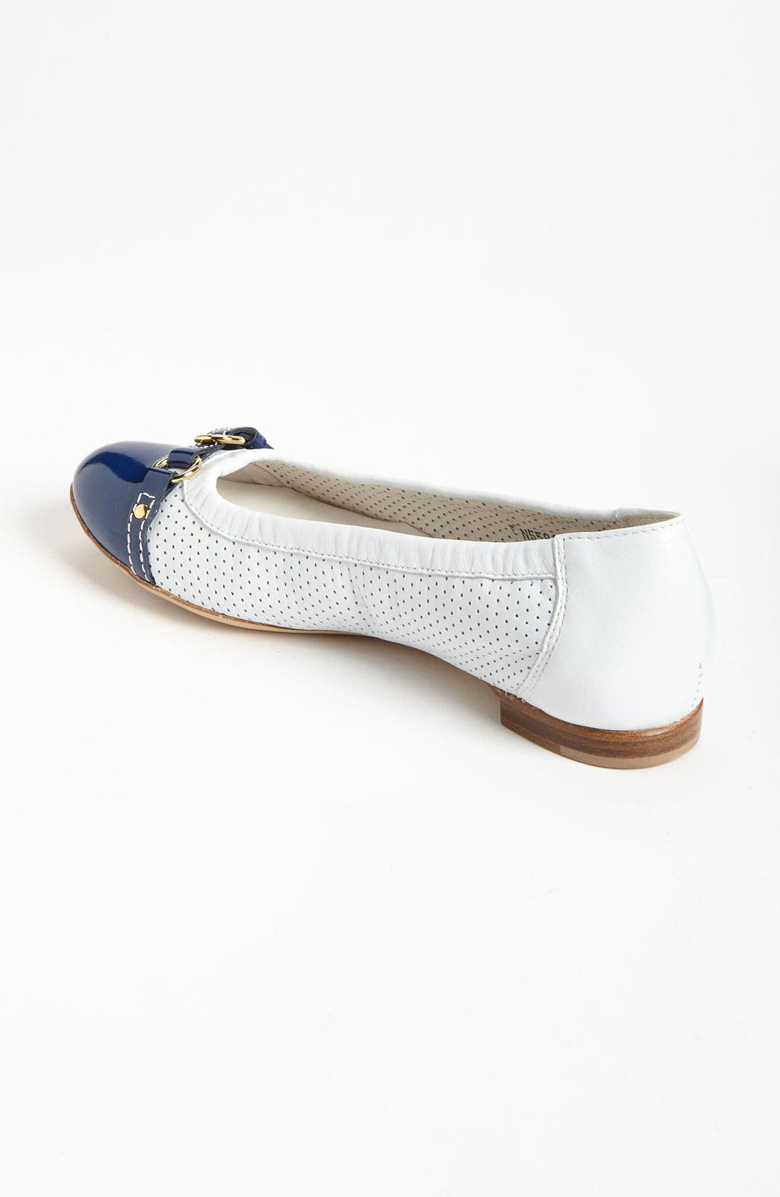 Alternate Image 2  - Attilio Giusti Leombruni Perforated Toe Cap Ballet Flat