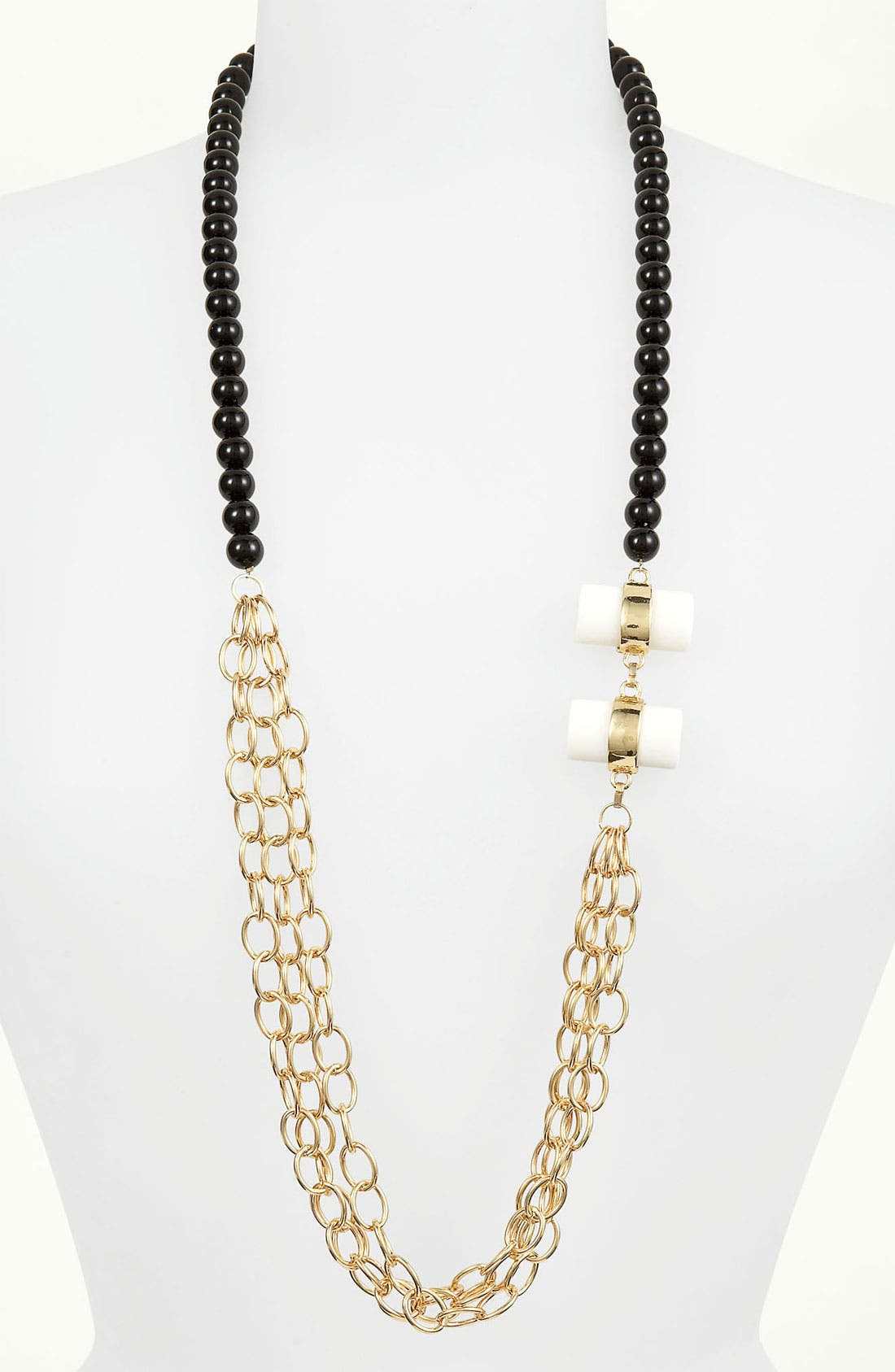 Main Image - Robert Rose 'Clear Vibe' Toggle Necklace