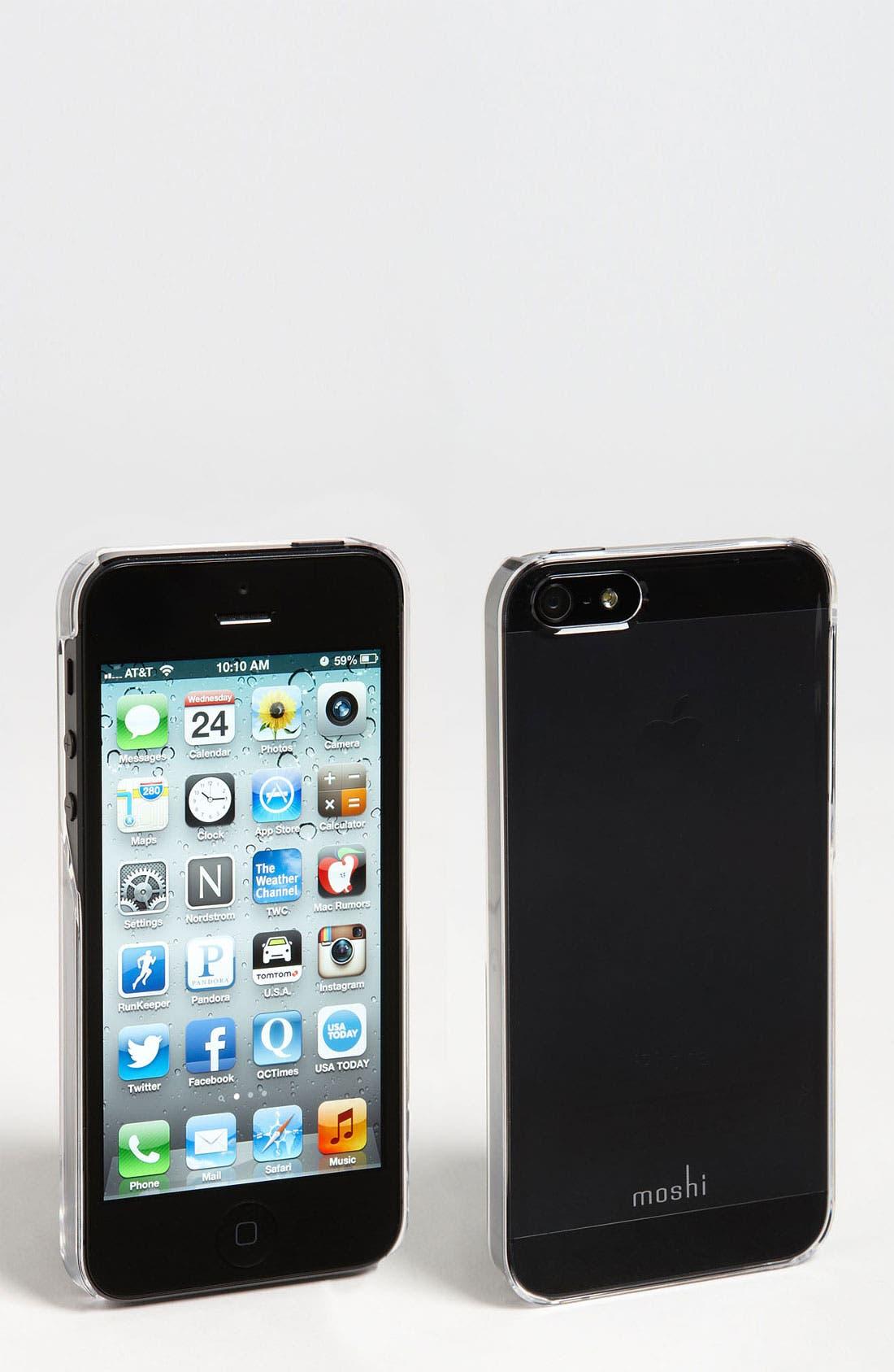 Alternate Image 2  - Moshi 'iGlaze' Snap-On iPhone 5, 5s & SE Case