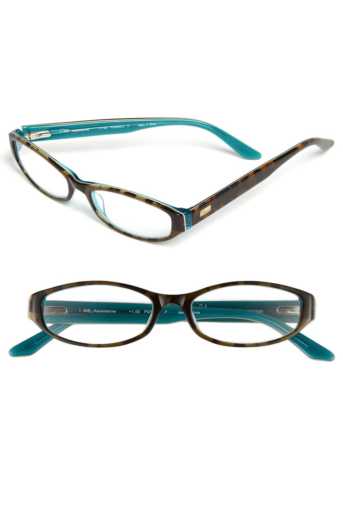 Alternate Image 1 Selected - I Line Eyewear 'Aquamarine' 51mm Reading Glasses