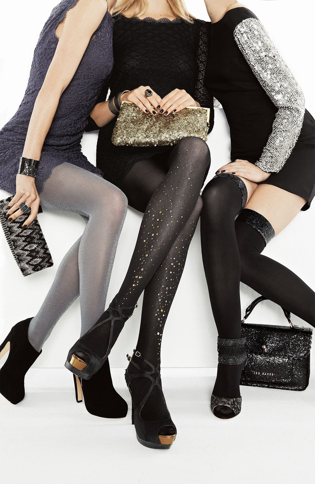Alternate Image 3  - Pretty Polly Embellished Tights (Nordstrom Exclusive)