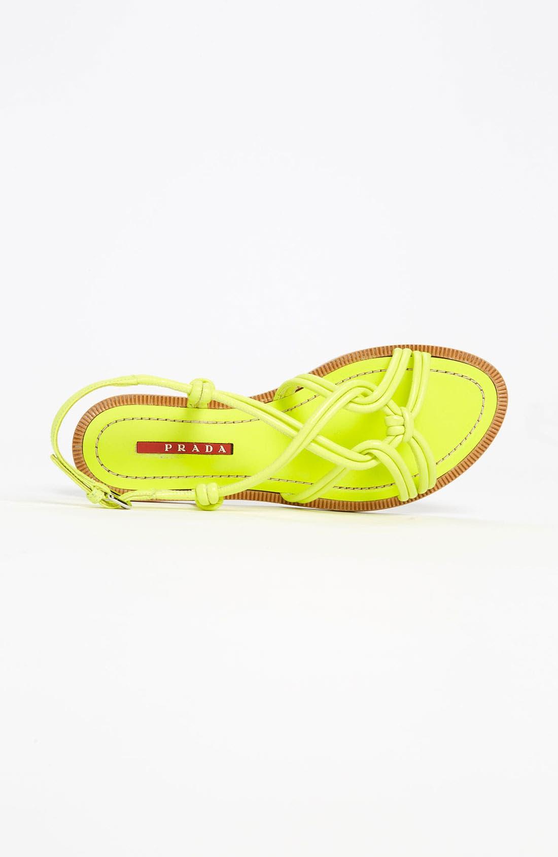 Alternate Image 3  - Prada Knot Strap Sandal